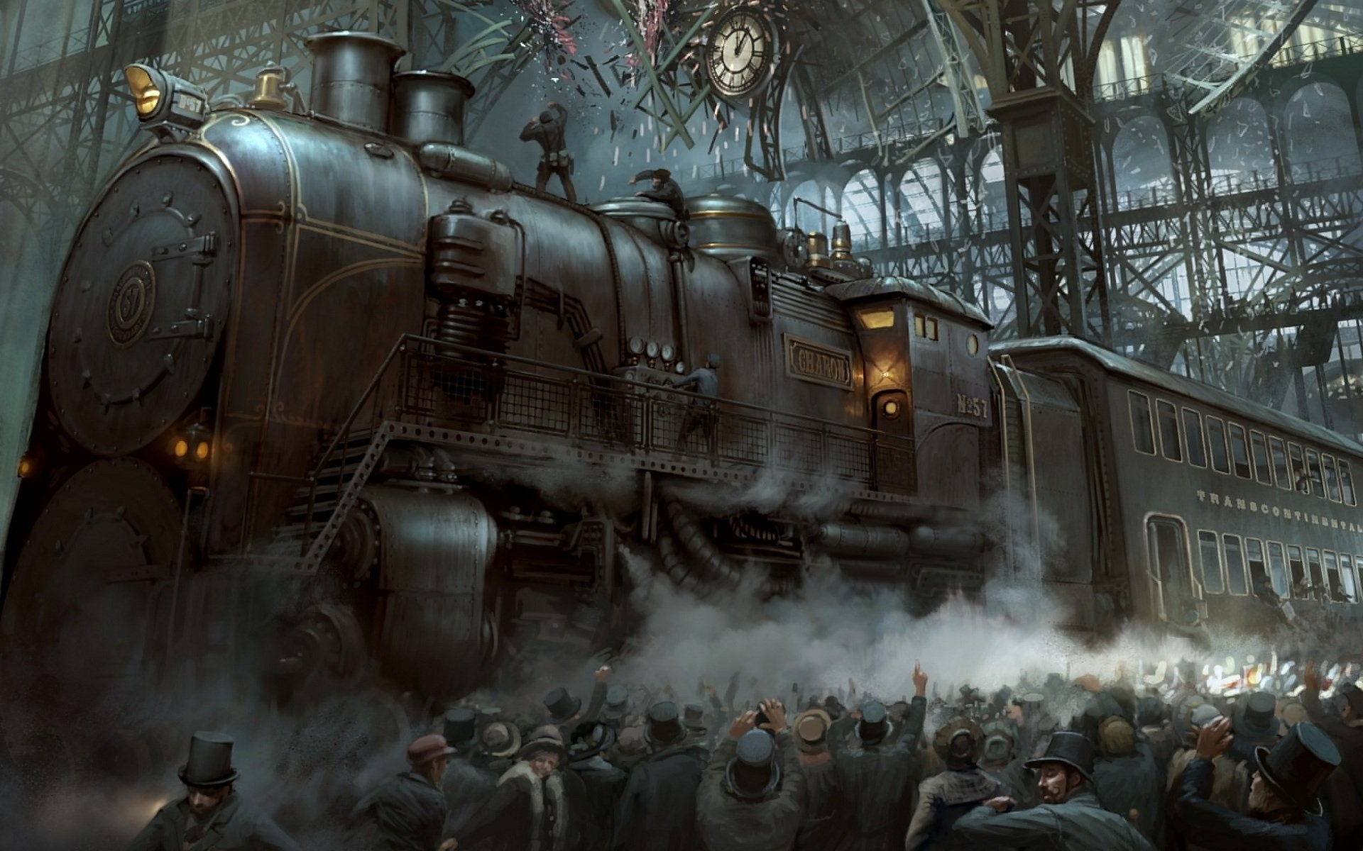 317 steampunk hd wallpapers | background images - wallpaper abyss