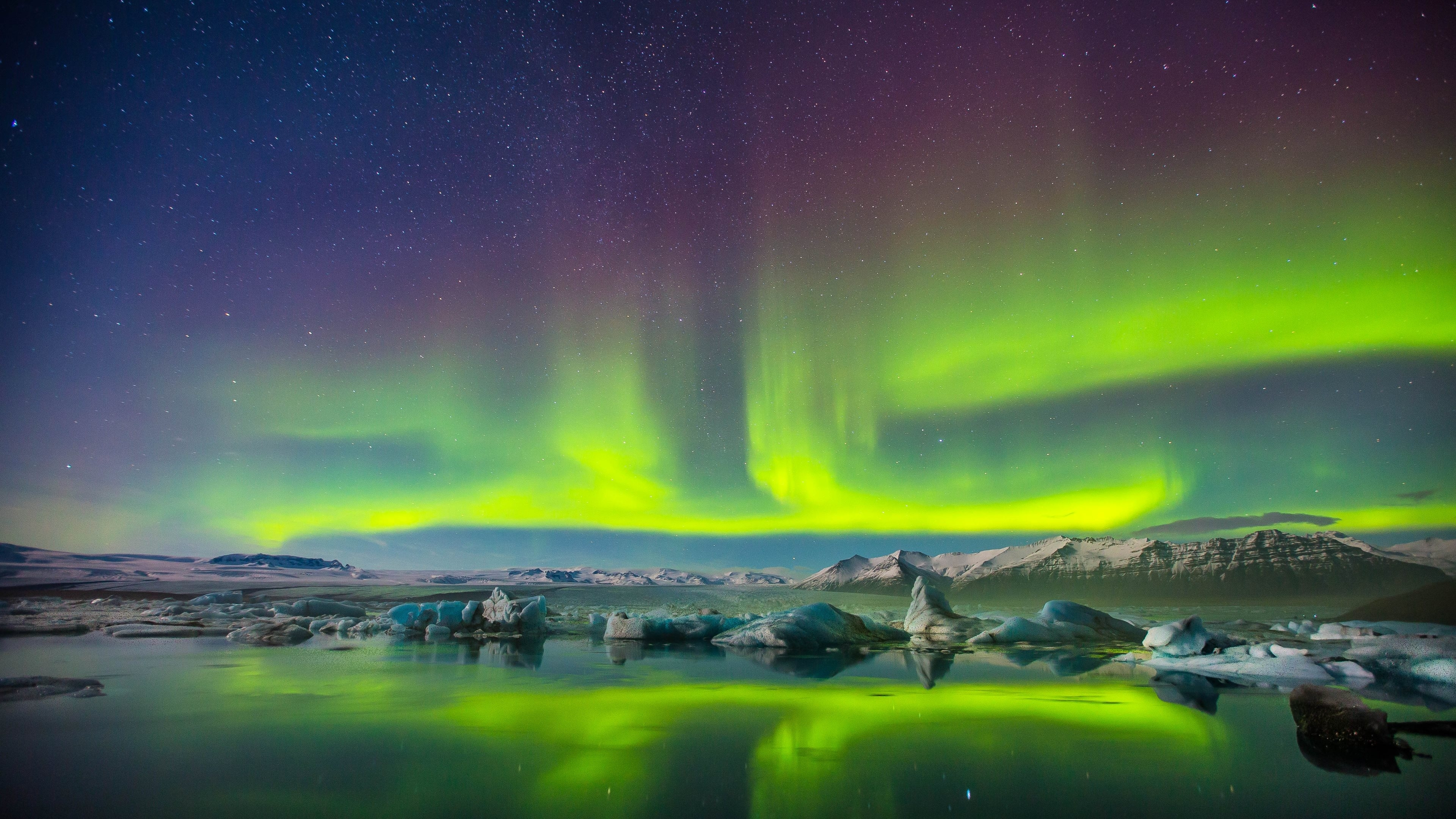 321 aurora borealis hd wallpapers | background images - wallpaper abyss