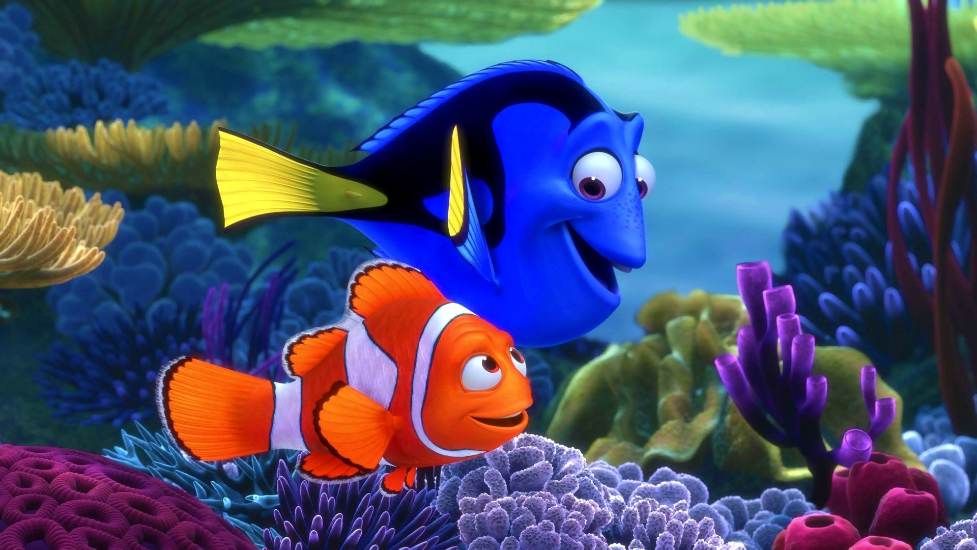 33 finding nemo hd wallpapers   background images - wallpaper abyss