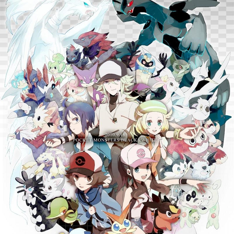 10 Most Popular Pokemon Black And White Wallpaper FULL HD 1920×1080 For PC Desktop 2018 free download 331721 pokemon black and white wallpapers 800x800