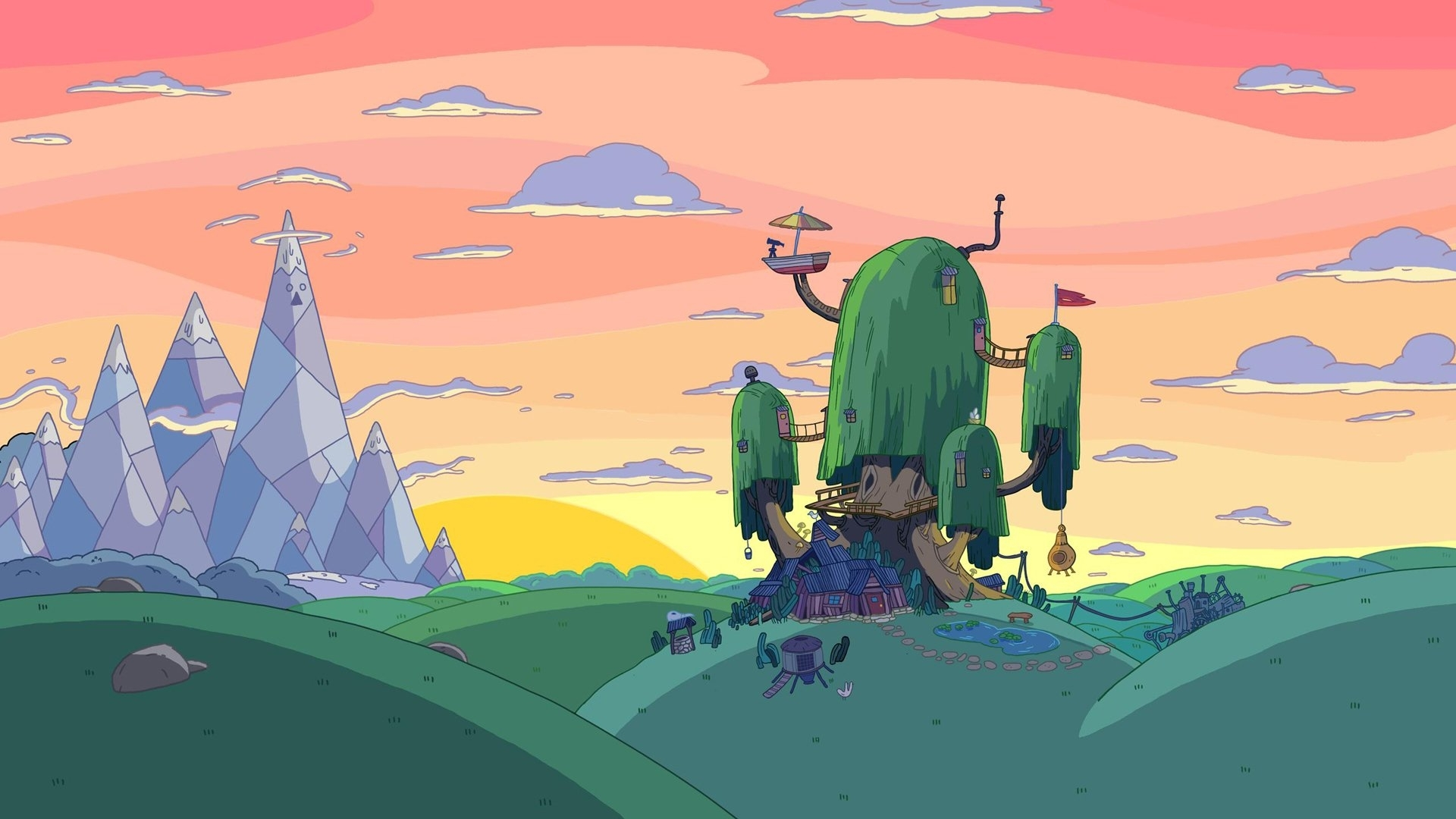 334 adventure time hd wallpapers | background images - wallpaper abyss