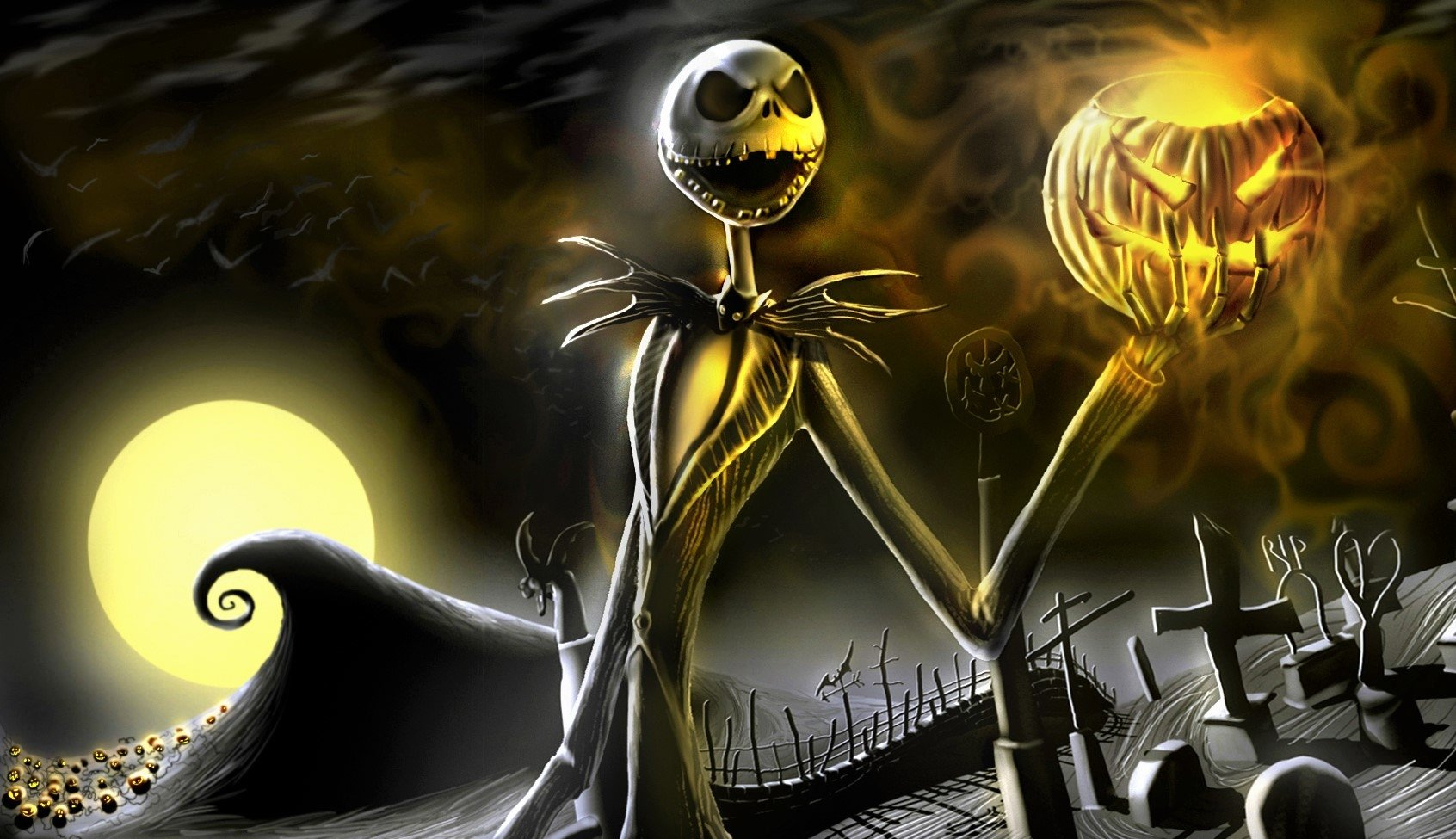 34 the nightmare before christmas hd wallpapers | background images
