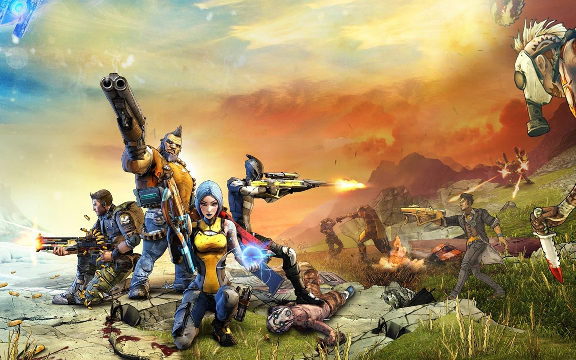 10 Top Borderlands 2 Hd Wallpaper FULL HD 1920×1080 For PC Desktop