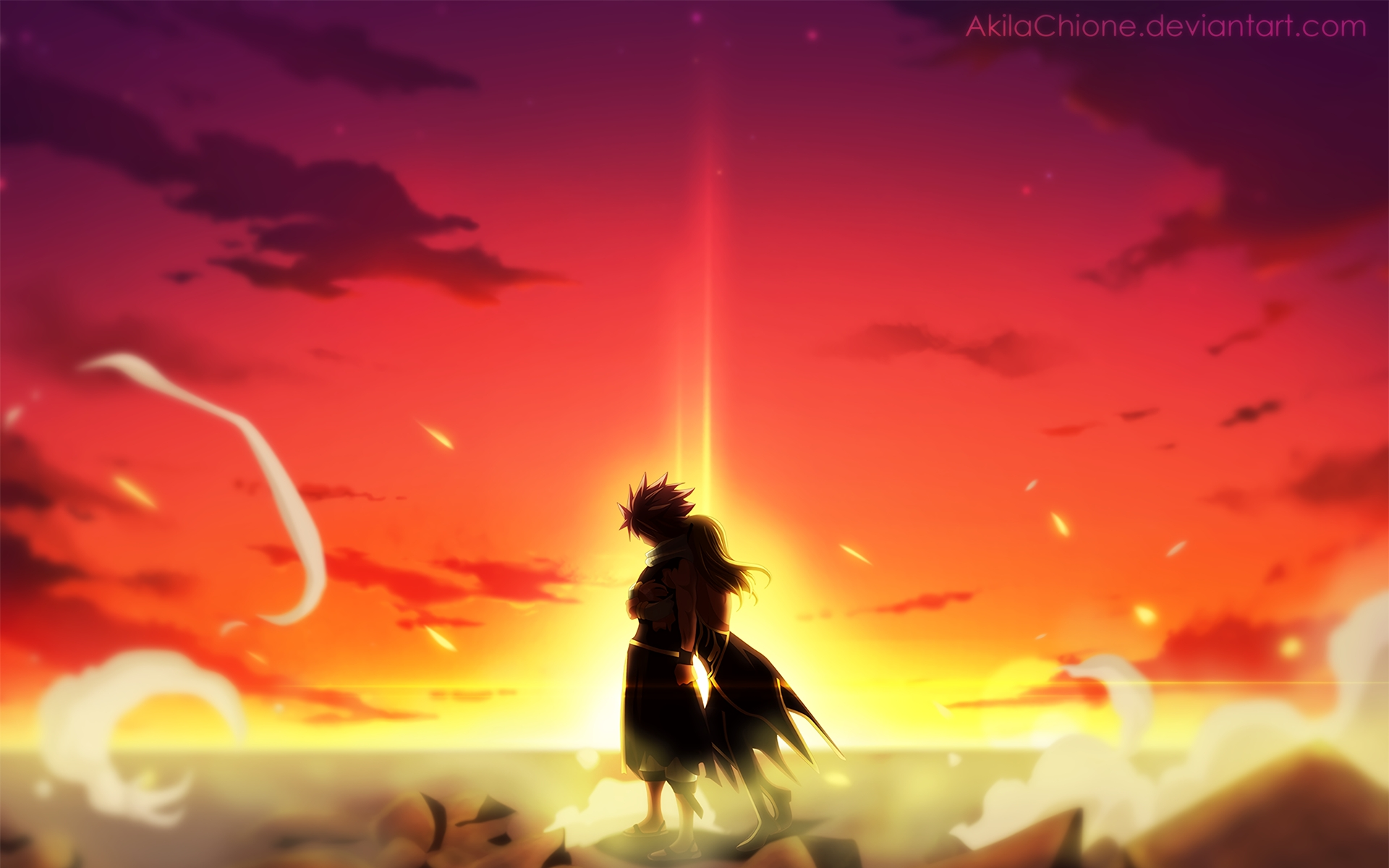 35 nalu (fairy tail) hd wallpapers | background images - wallpaper abyss