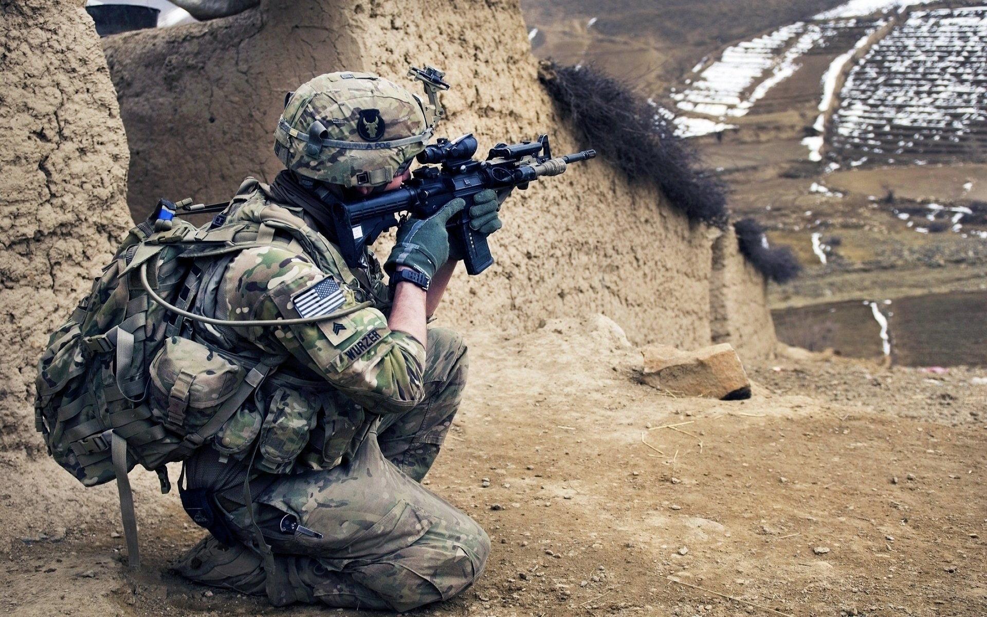 38 u.s. army infantry hd wallpapers   background images - wallpaper