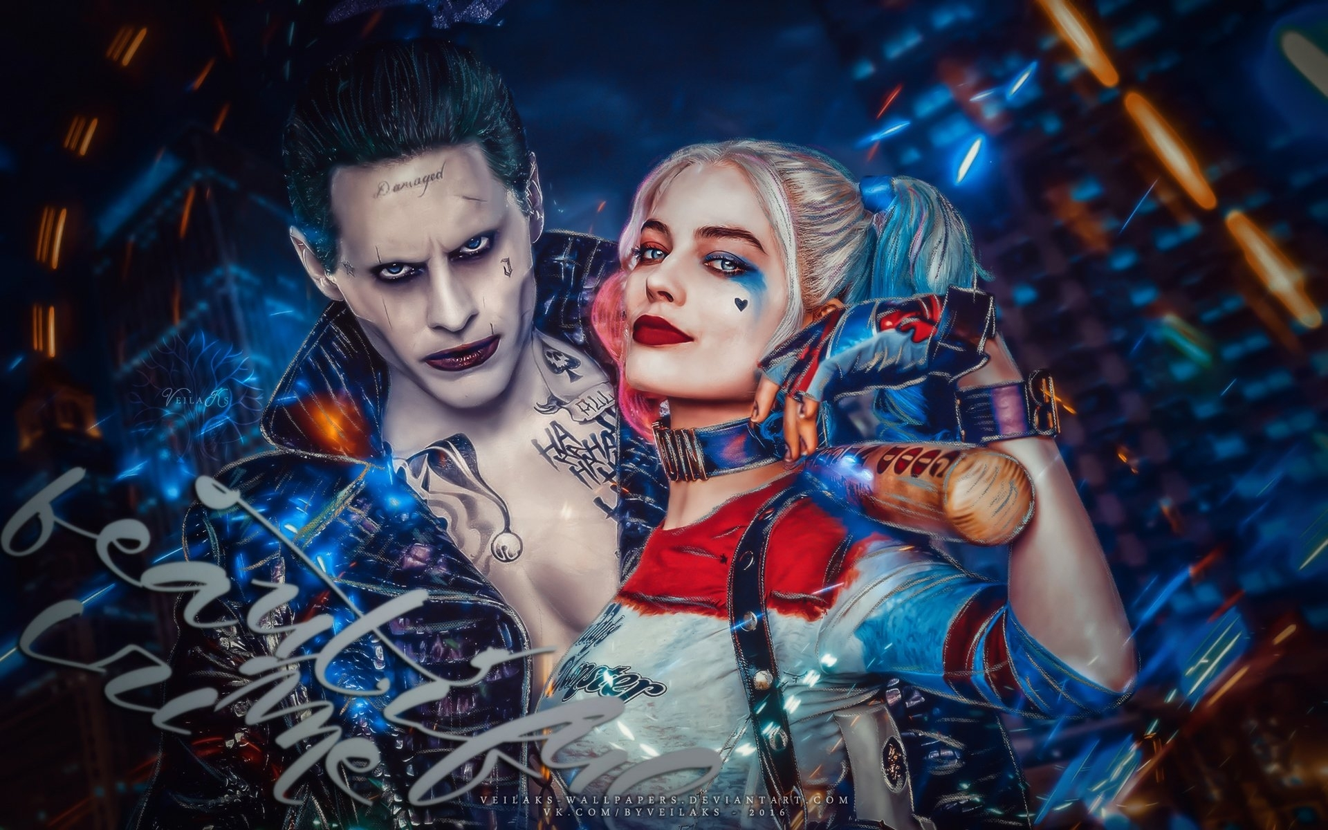 380 harley quinn hd wallpapers | background images - wallpaper abyss