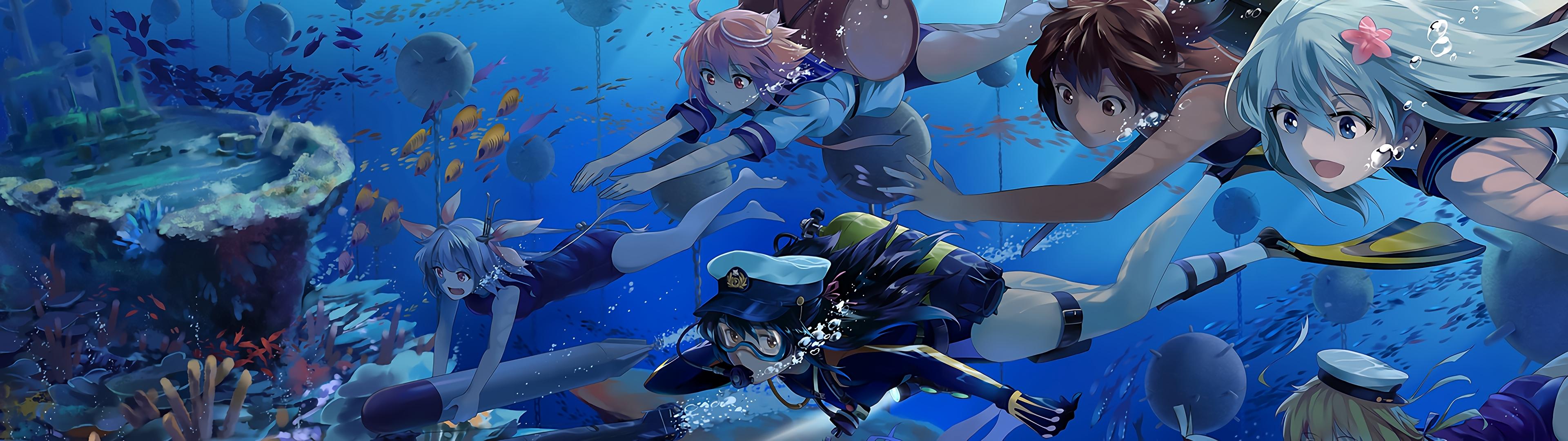 3840x1080] anime wallpaper - album on imgur