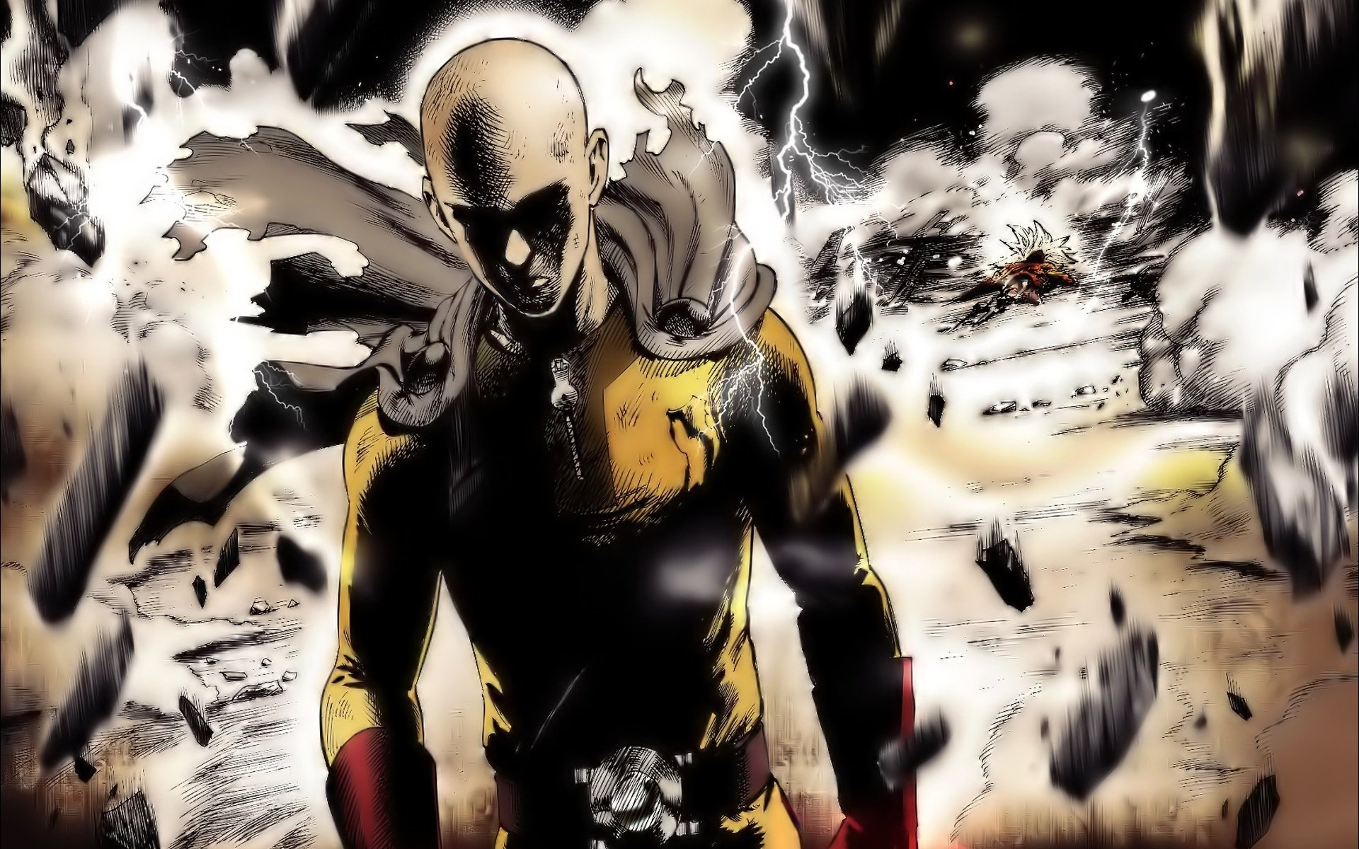 10 Most Popular One Punch Man 1080P Wallpaper FULL HD 1920×1080 For PC Background