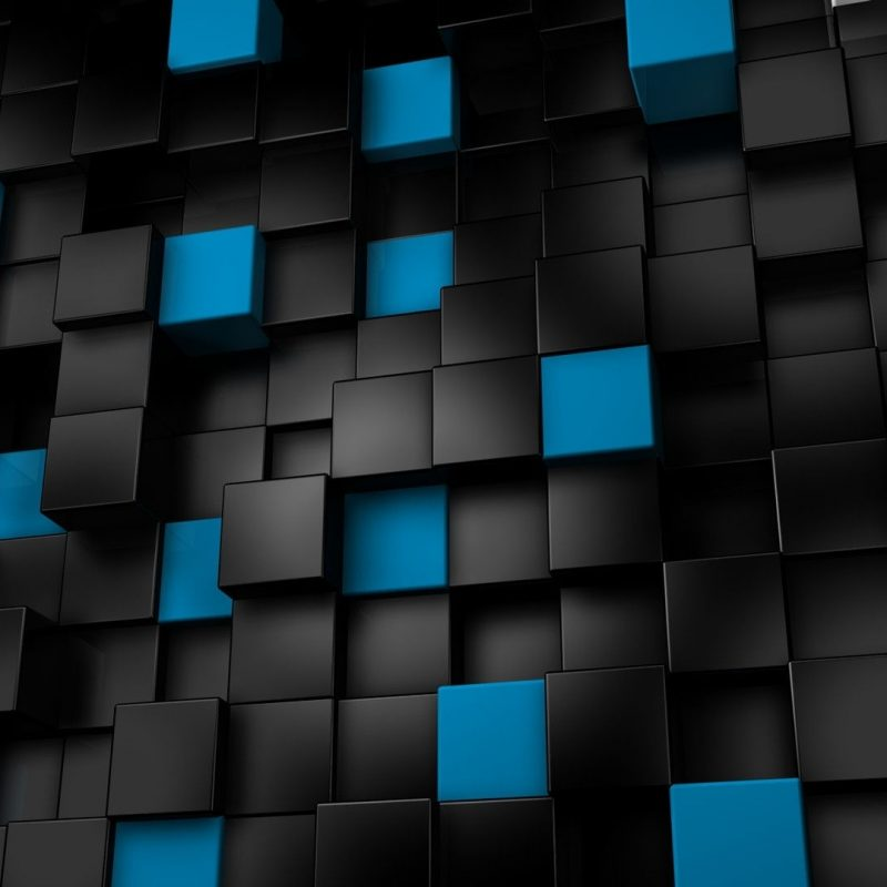 10 Best Black And Blue Hd FULL HD 1920×1080 For PC Desktop 2018 free download 3d abstract blocks cubes black blue hd widescreen wallpaper 3d 800x800