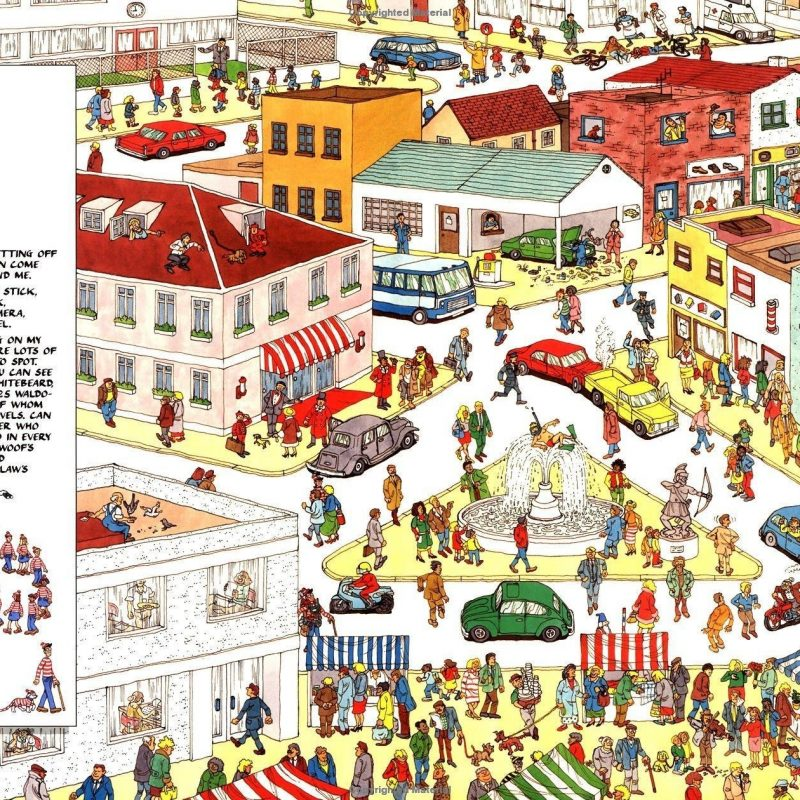 10 Most Popular Where's Waldo Wallpapers For Desktop FULL HD 1080p For PC Background 2018 free download 4 wheres waldo hd wallpapers background images wallpaper abyss 1 800x800