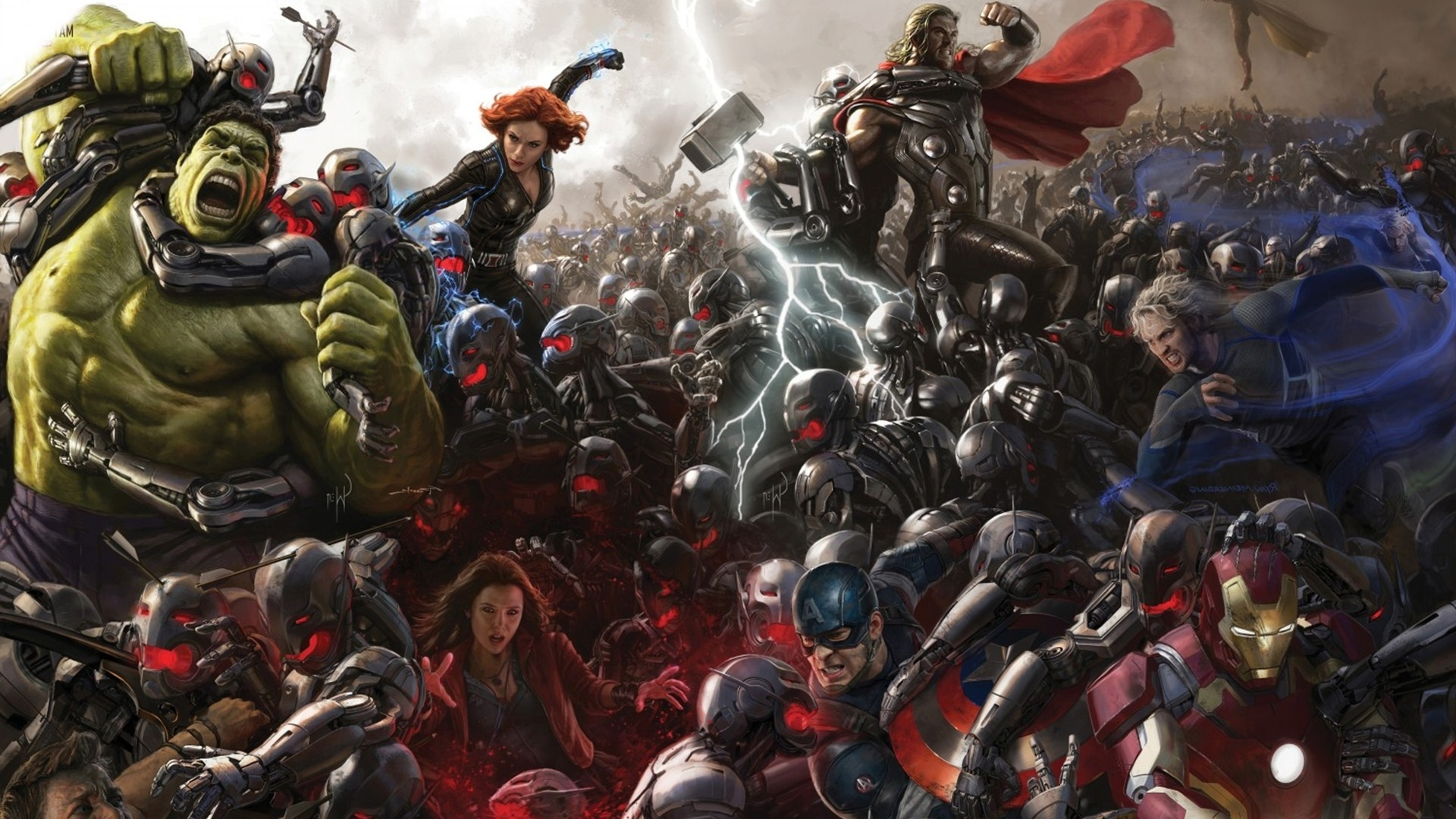 42+ age of ultron wallpapers