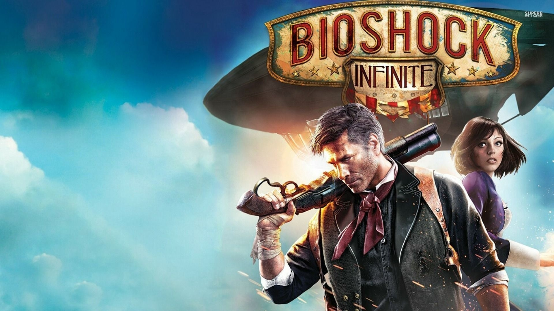 43+ bioshock infinite wallpaper
