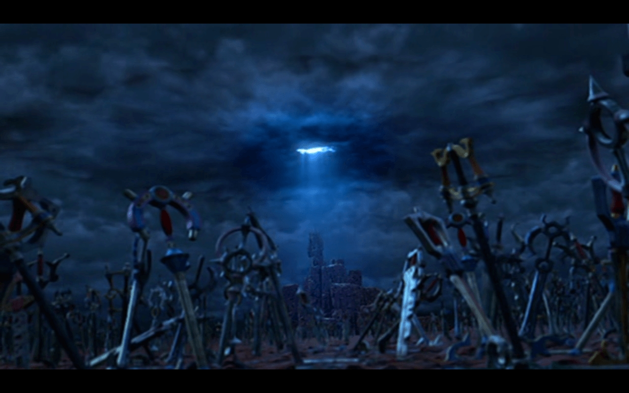 43812 kingdom hearts keyblade graveyard wallpaper | 1280 x 800