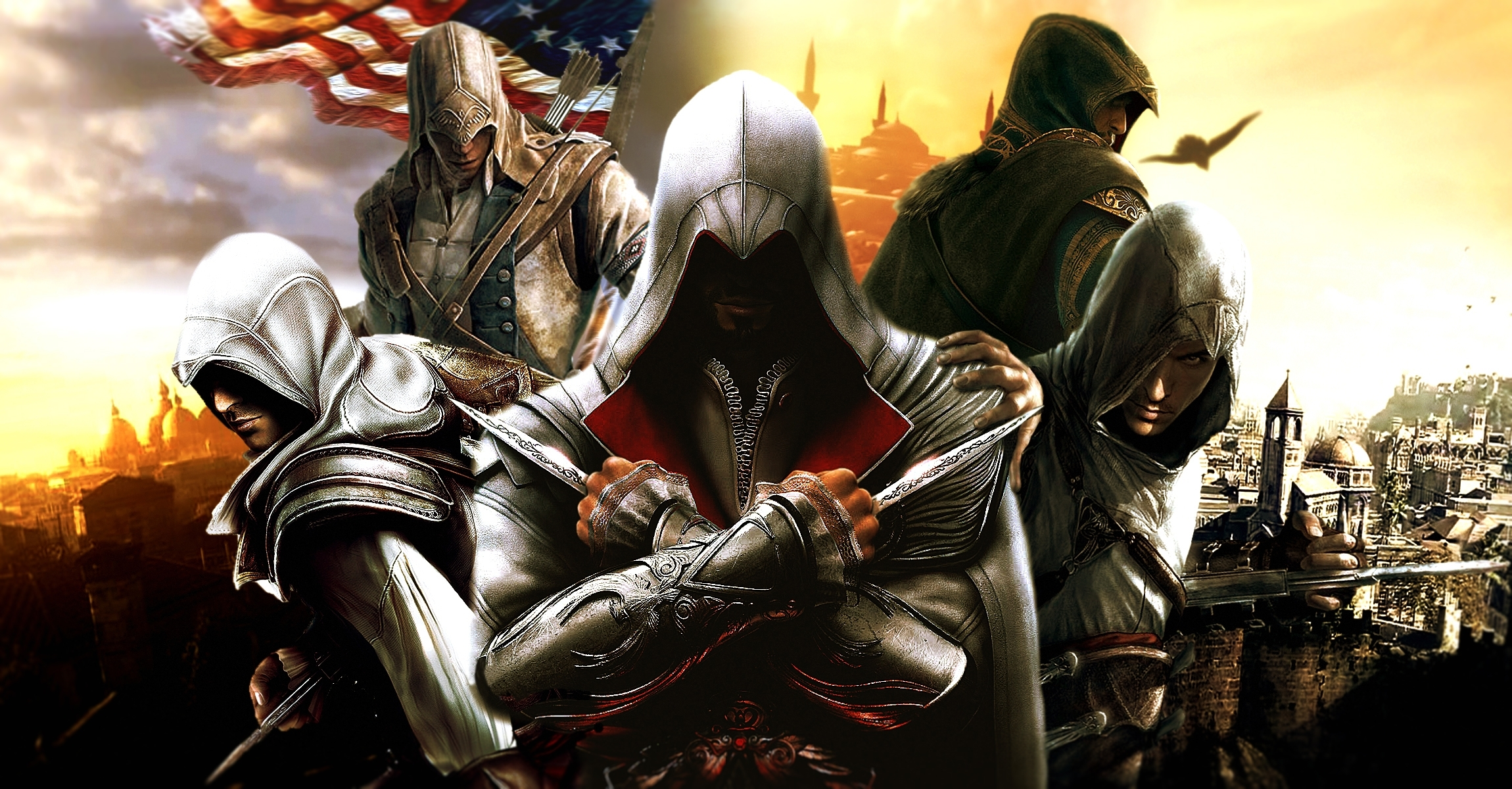 44 ezio (assassin's creed) hd wallpapers | background images