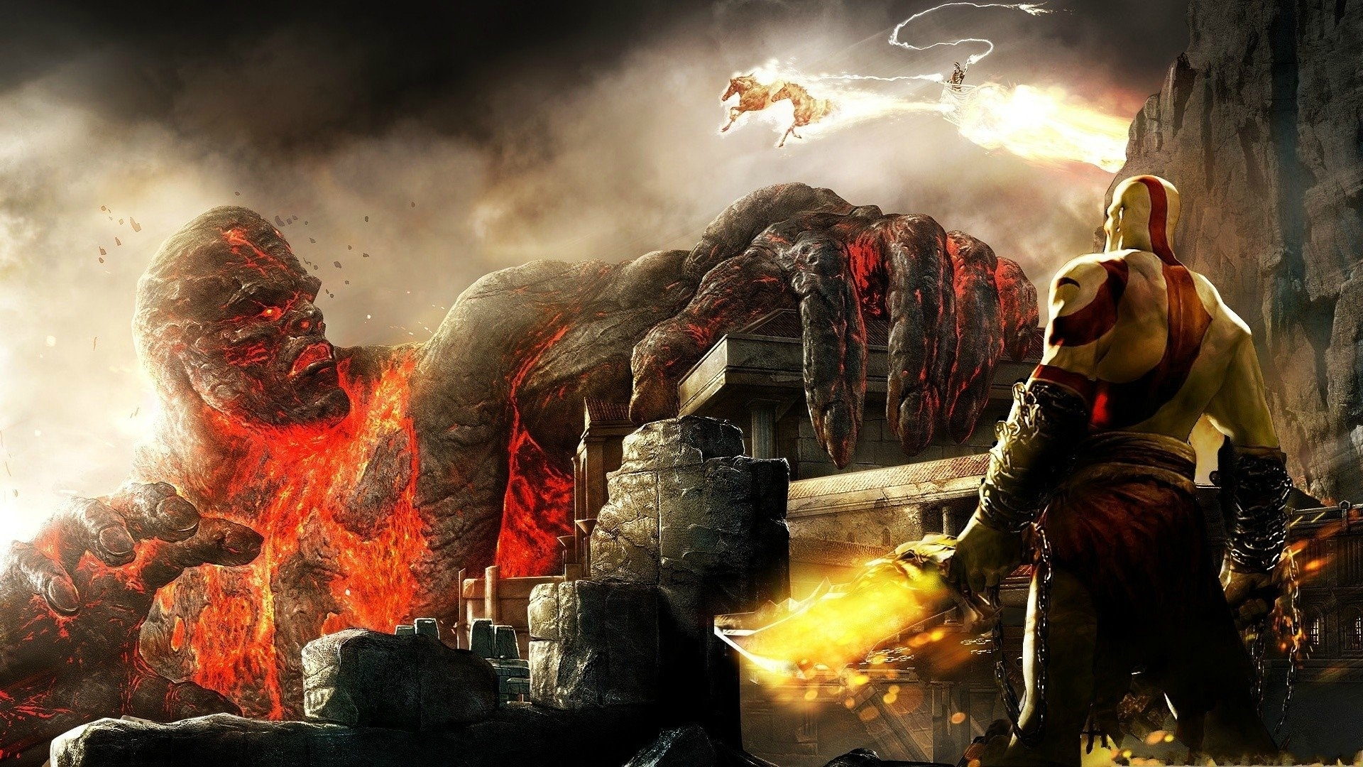 44 god of war iii hd wallpapers | background images - wallpaper abyss