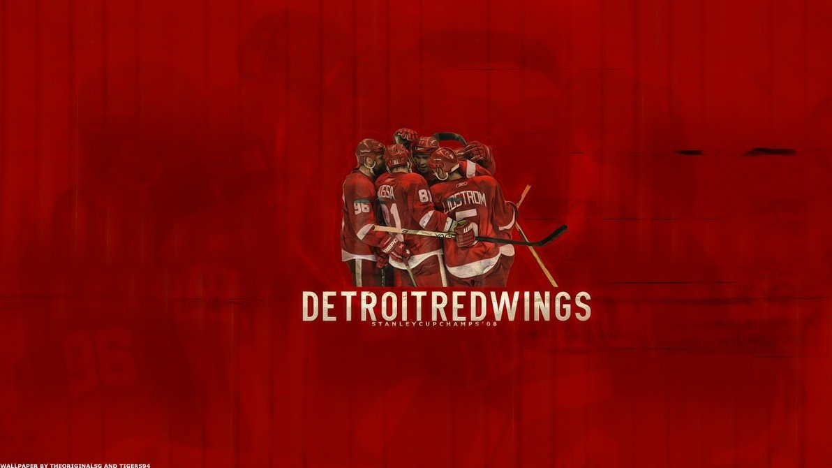 Title 45 Free Detroit Red Wings Wallpaper Designs Ampamp Trivia Dimension 1192 X 670 File Type JPG JPEG