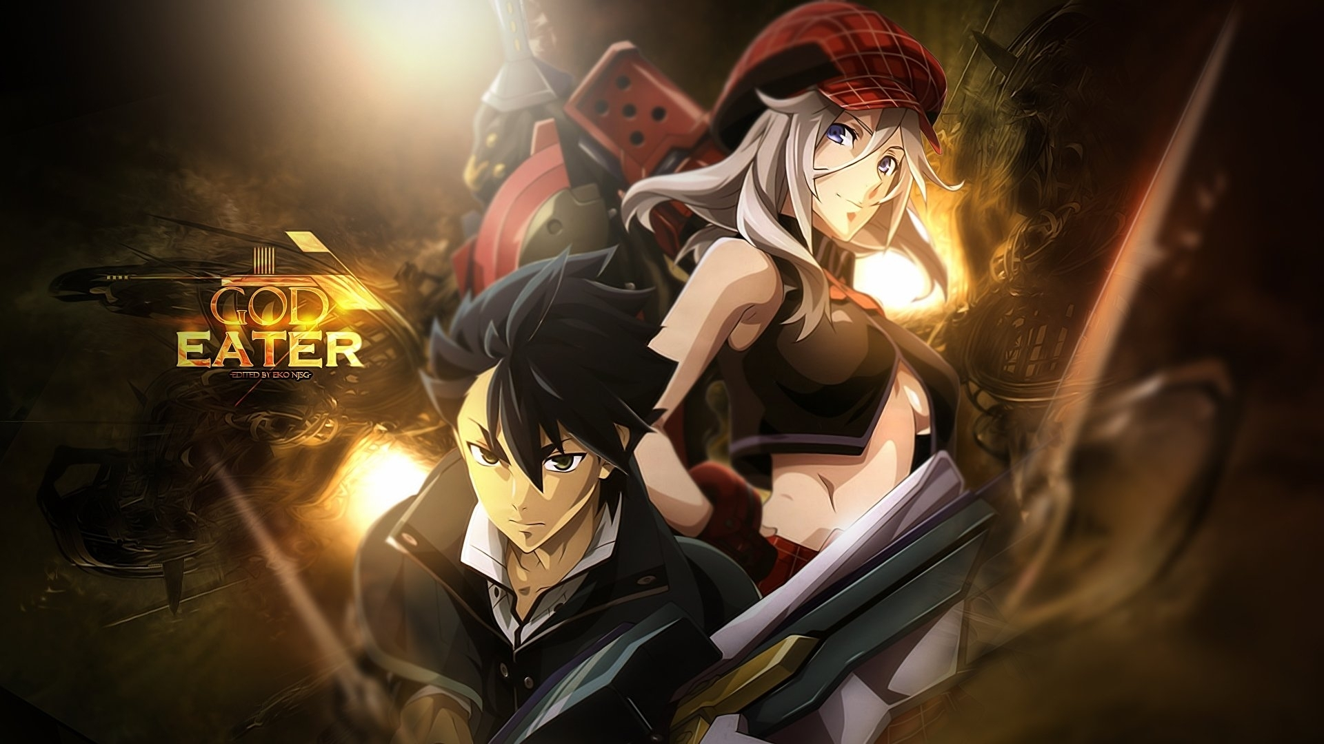 45 god eater hd wallpapers | background images - wallpaper abyss