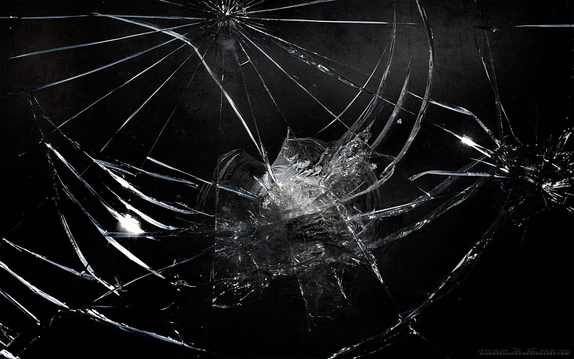 45 realistic cracked and broken screen wallpapers - technosamrat