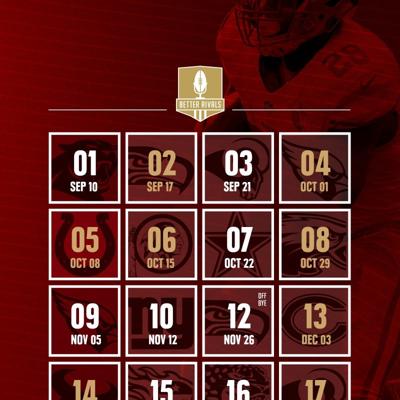 10 Top 49Ers 2017 Schedule Wallpaper FULL HD 1080p For PC Background 2018 free download 49ers 2017 schedule wallpapers for iphone android desktop niners 3 800x800