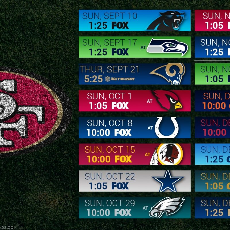 10 Top 49Ers 2017 Schedule Wallpaper FULL HD 1080p For PC Background 2018 free download 49ers wallpaper 2018 c2b7e291a0 800x800
