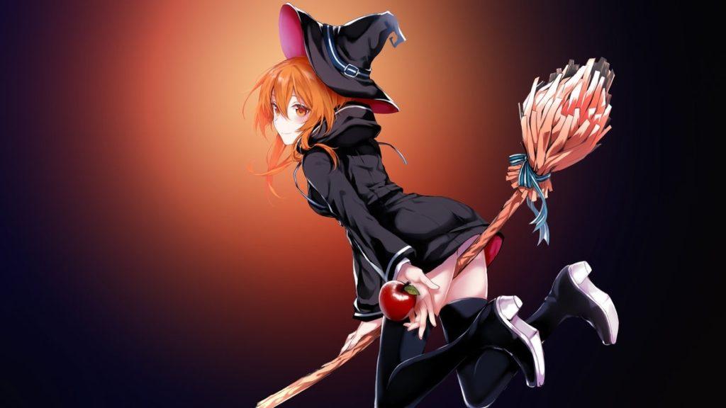 10 Best 4K Anime FULL HD 1920×1080 For PC Desktop 2018 free download 4k uhd anime wallpaper magic girl by assassinwarrior free 1024x576