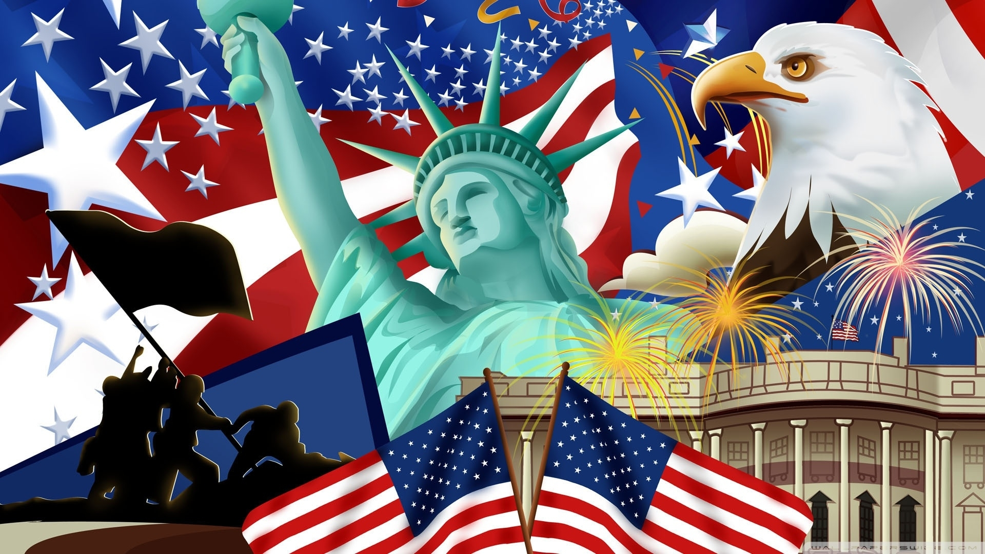 10 Best 4Th Of July Wallpaper FULL HD 1080p For PC Background