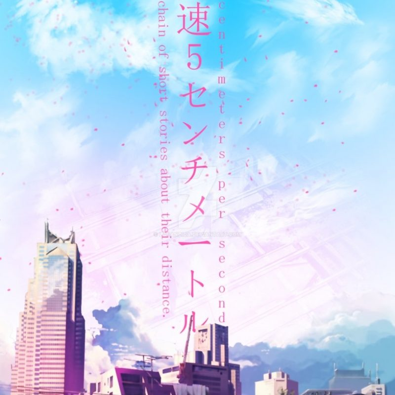 10 New 5 Centimeters Per Second Poster FULL HD 1080p For PC Background 2018 free download 5 centimeters per secondchico robot on deviantart 800x800