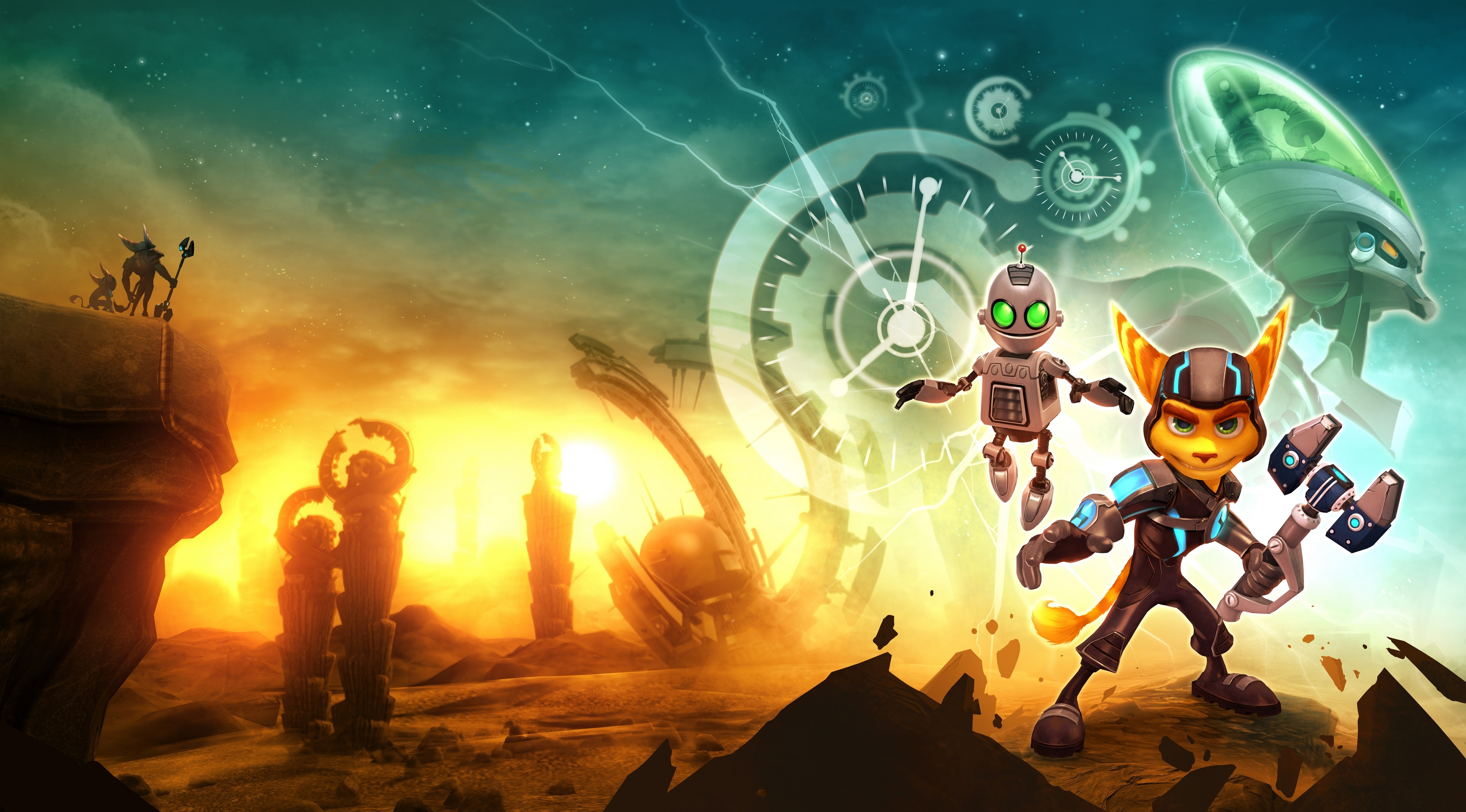 5 ratchet & clank future: a crack in time fonds d'écran hd | arrière