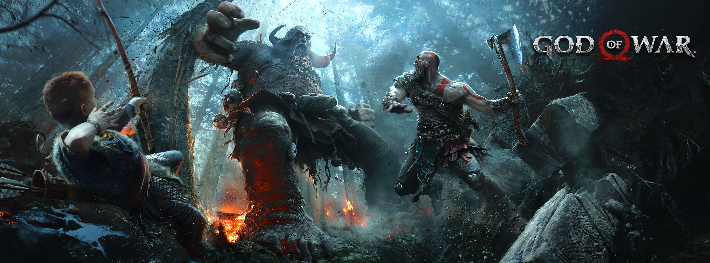 50 god of war (2018) hd wallpapers | background images - wallpaper abyss