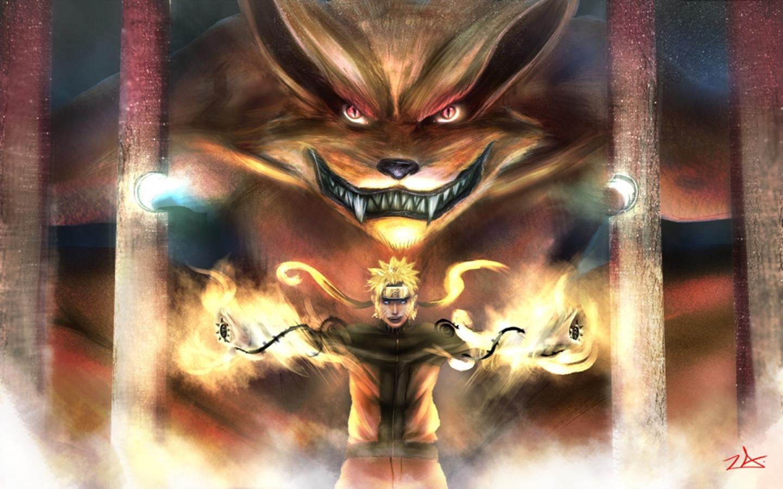 10 Best Nine Tailed Fox Naruto Wallpaper FULL HD 1920×1080 ...