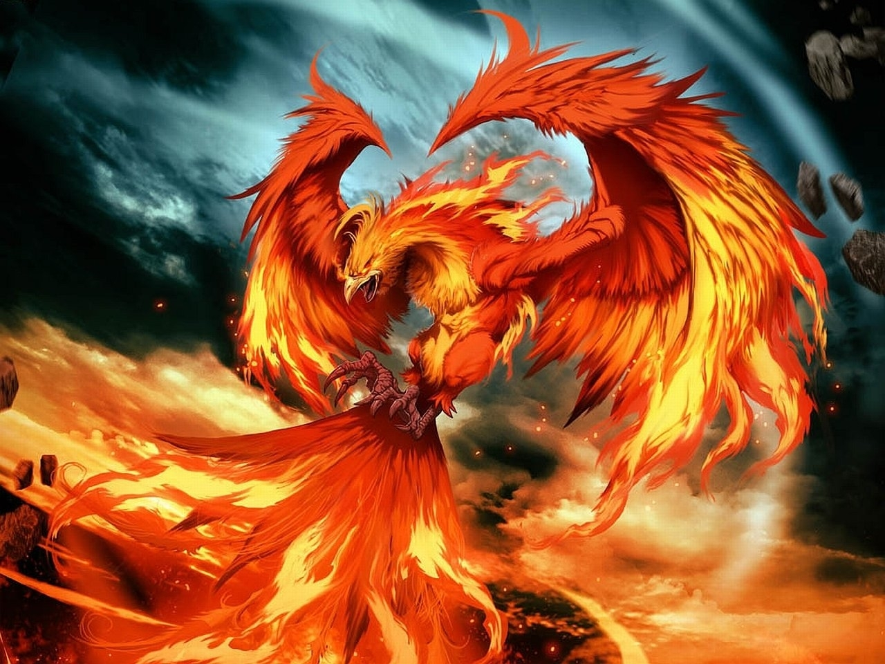 52 phoenix hd wallpapers | background images - wallpaper abyss