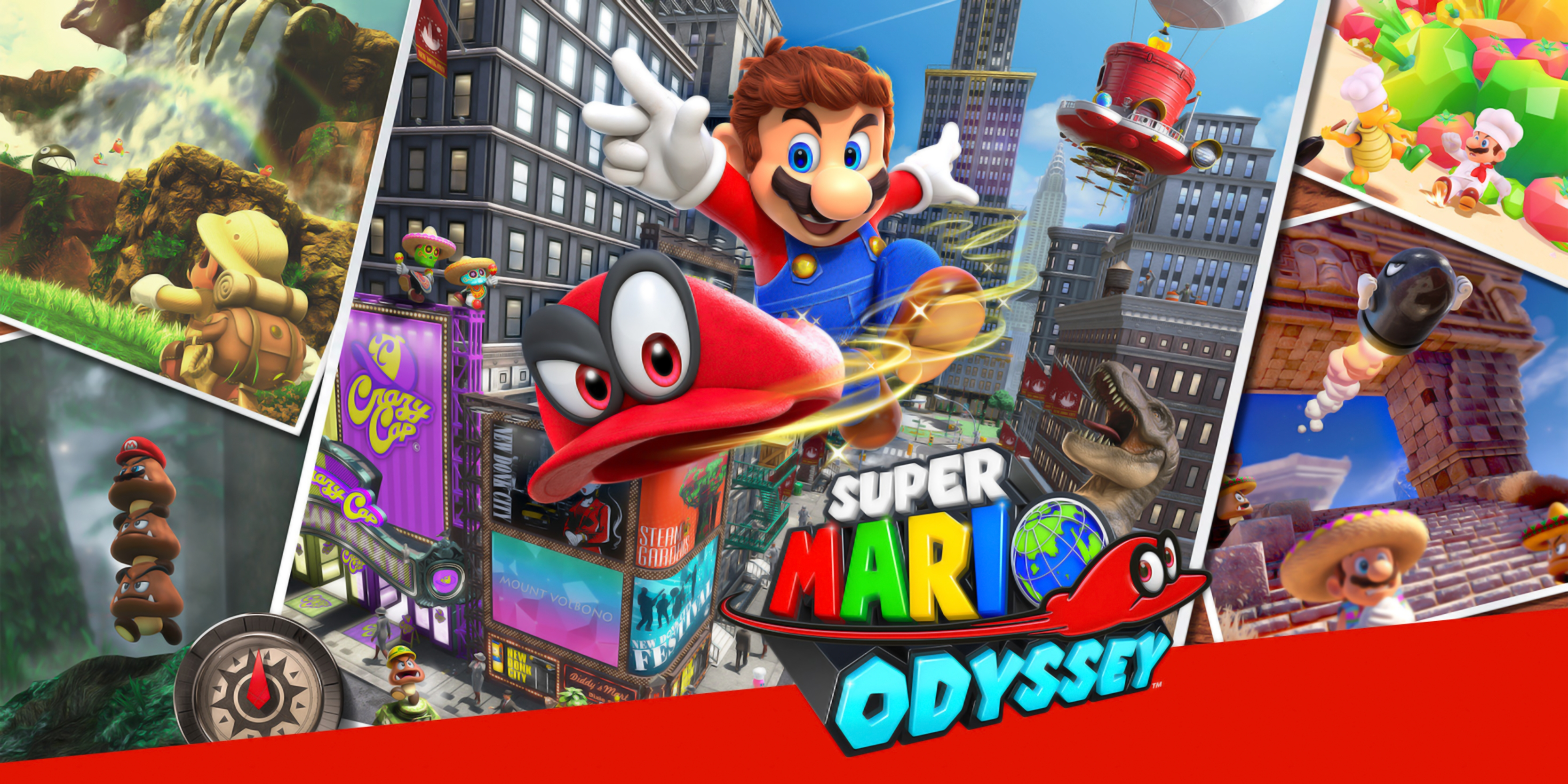 10 Top Super Mario Odyssey Wallpaper FULL HD 1920×1080 For PC Background