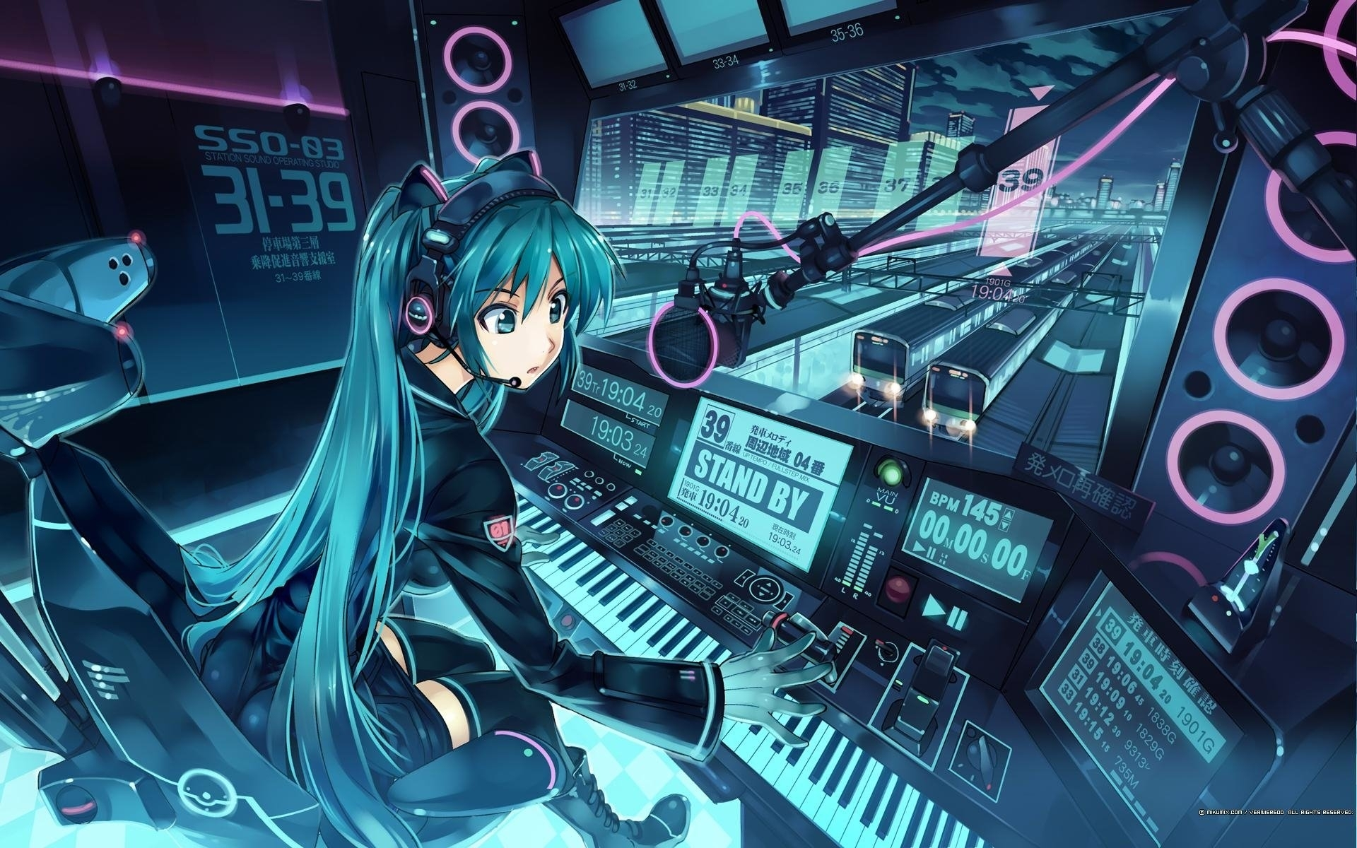 5418 hatsune miku hd wallpapers | background images - wallpaper abyss