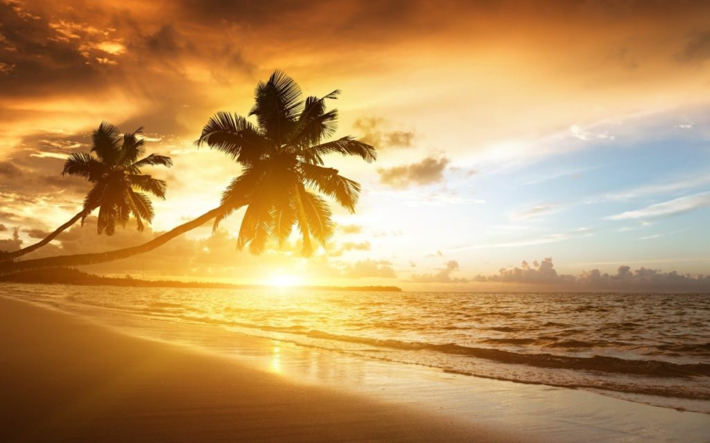 10 Latest Beautiful Beach Sunset Backgrounds FULL HD 1080p For PC Desktop 2020 free download 55 beach sunset backgrounds bed room designs design trends 1024x640