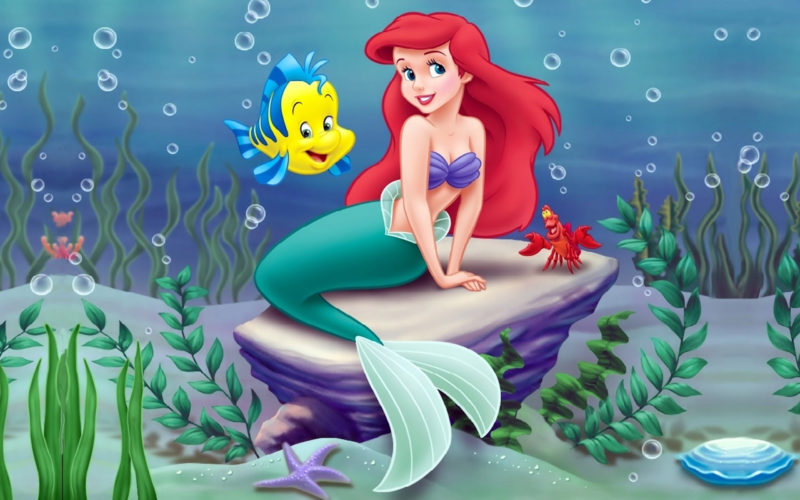 10 New The Little Mermaid Hd Wallpaper FULL HD 1080p For PC Desktop 2018 free download 61 the little mermaid hd wallpapers background images wallpaper 1 800x500