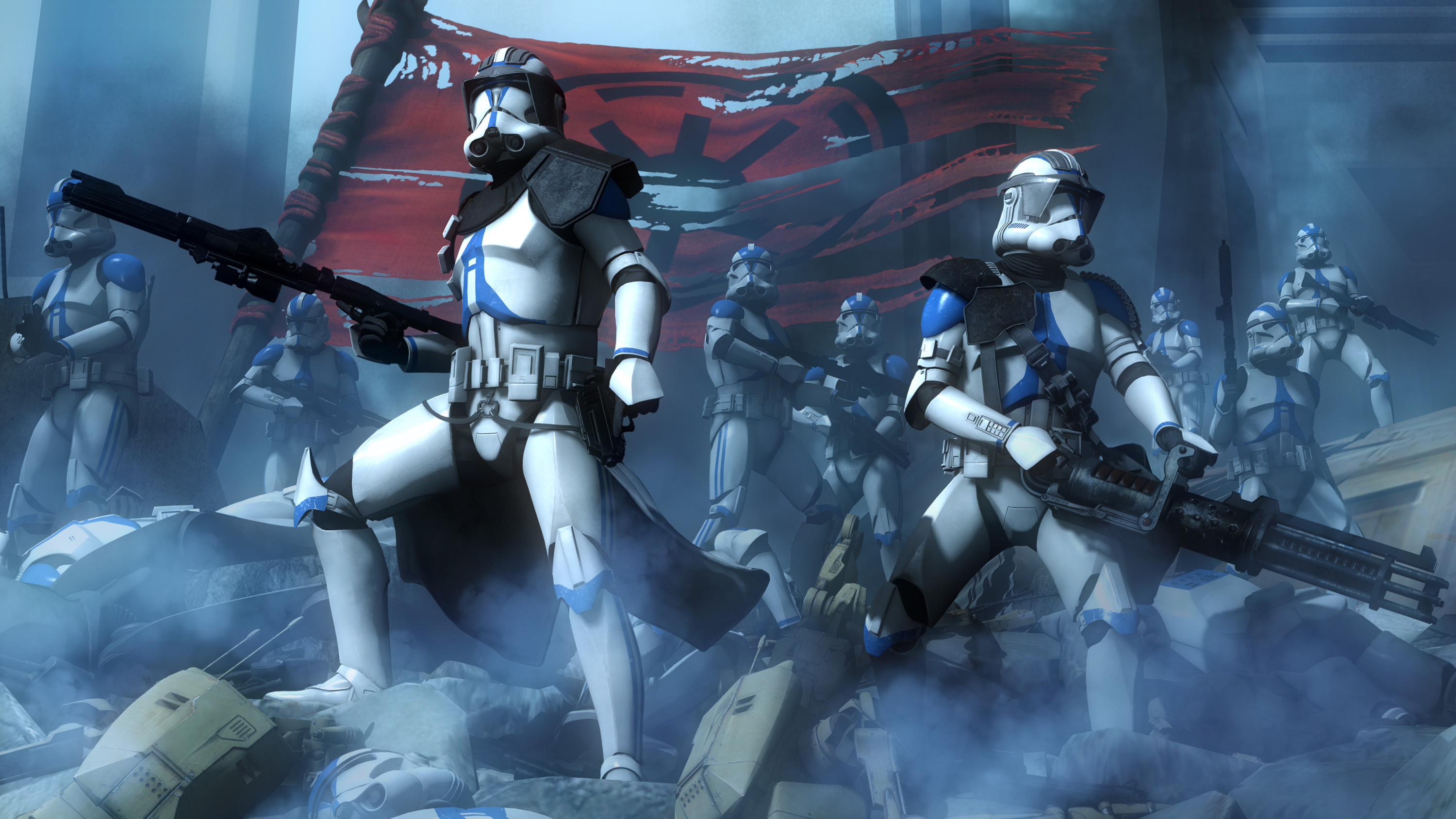 64+ clone trooper wallpapers on wallpaperplay