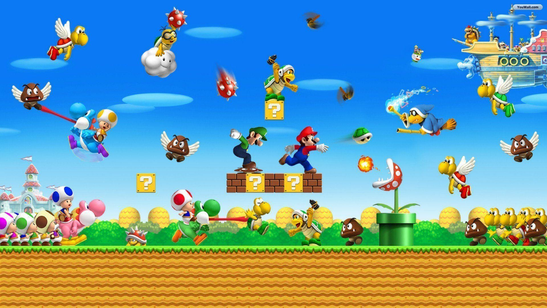 64+ mario world wallpapers on wallpaperplay