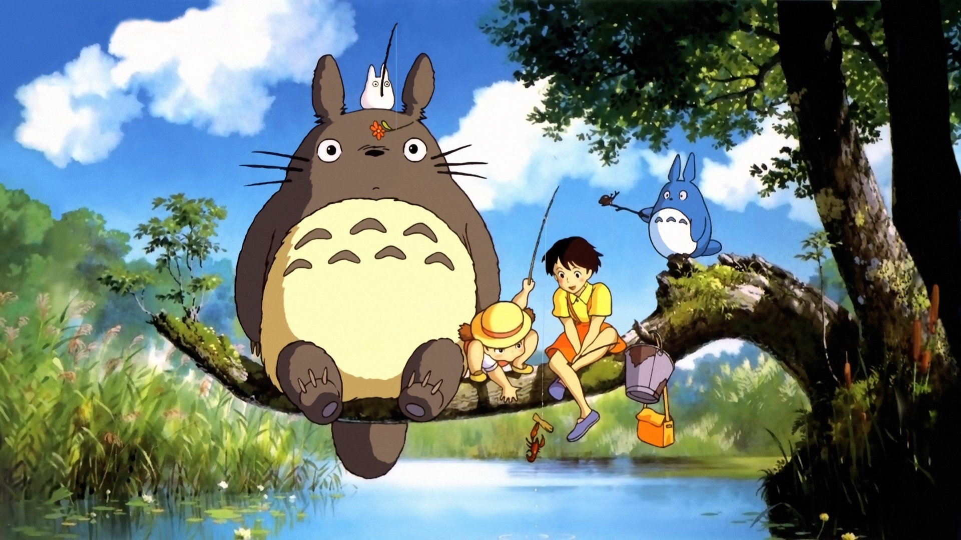 67 my neighbor totoro hd wallpapers | background images - wallpaper