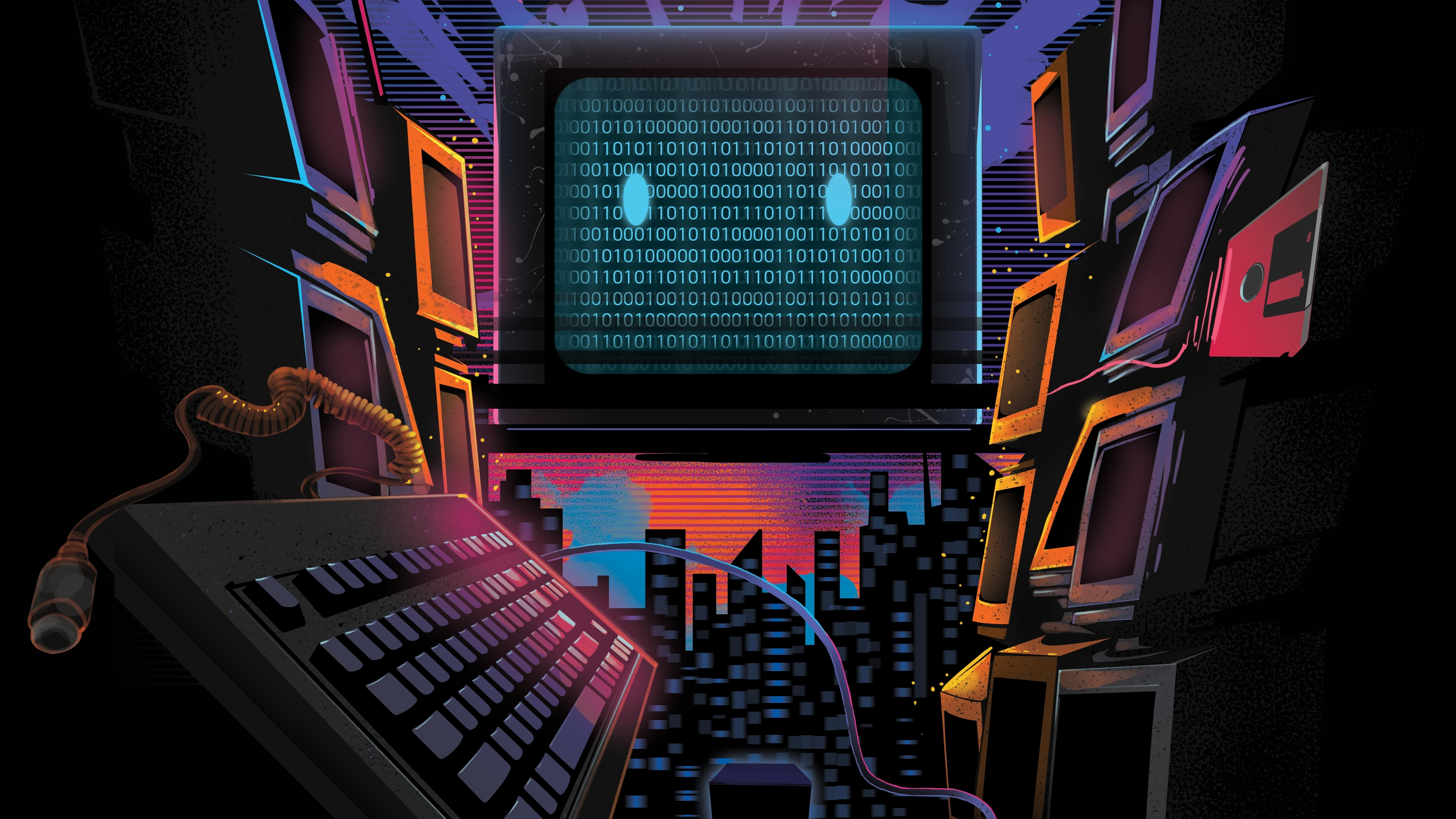 68 retro wave fonds d'écran hd | arrière-plans - wallpaper abyss