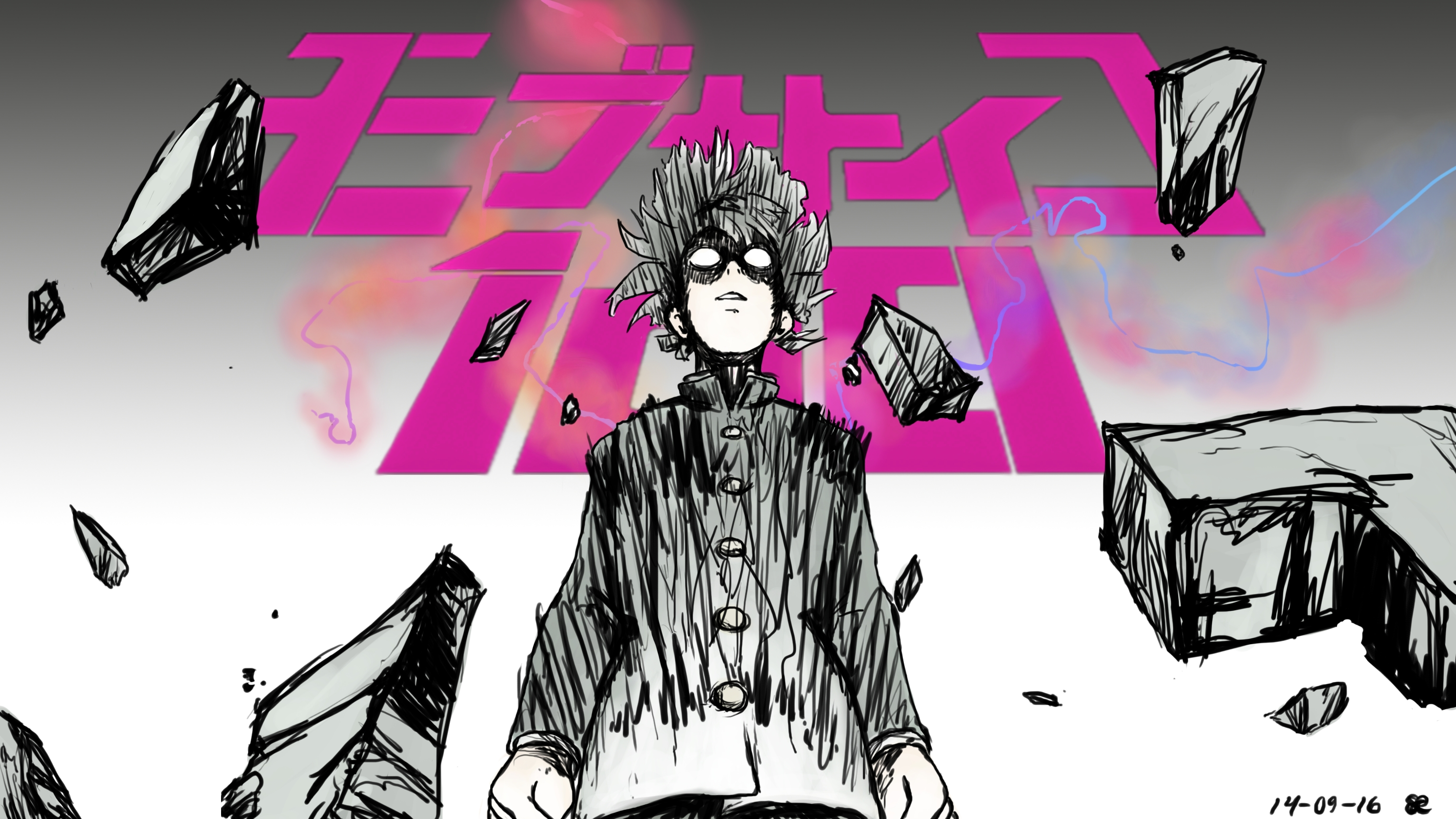 69 mob psycho 100 hd wallpapers | background images - wallpaper abyss