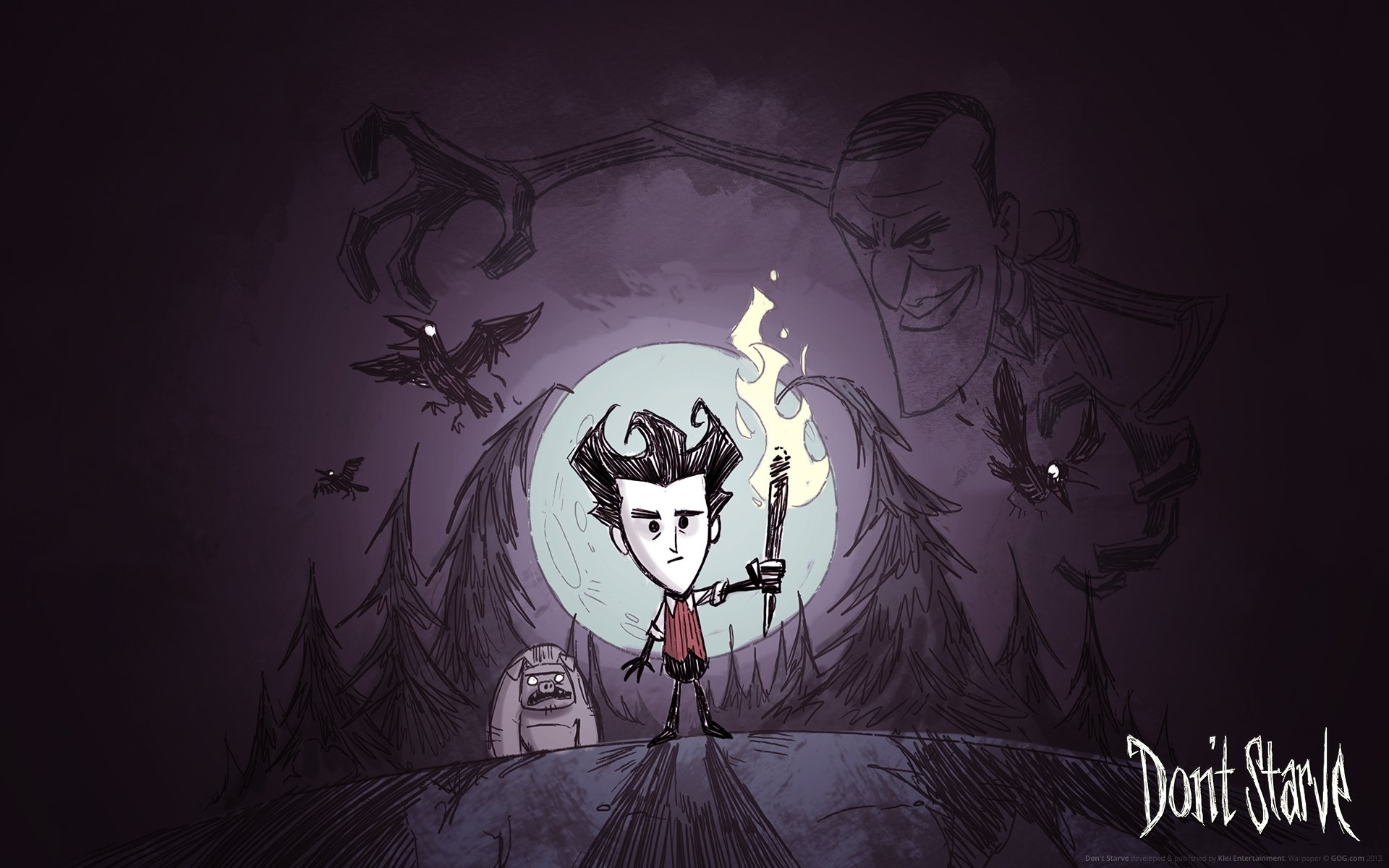 7 don't starve hd wallpapers | background images - wallpaper abyss