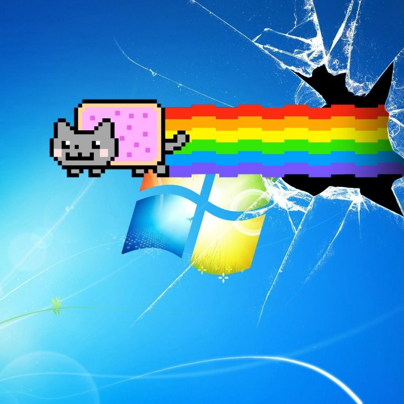 10 New Windows 7 Background Broken FULL HD 1080p For PC Desktop 2018 free download 72 entries in nyan cat backgrounds group 800x800