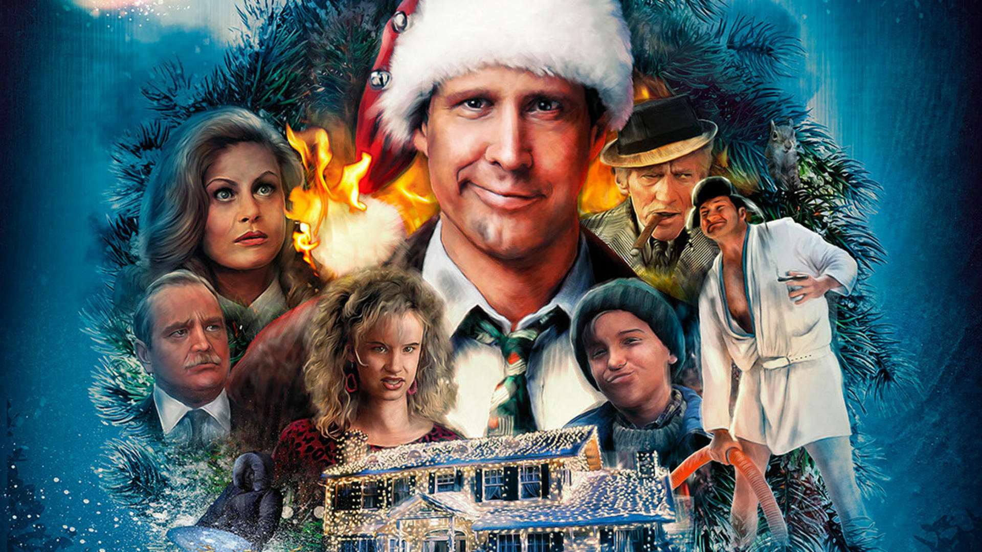 73+ christmas vacation wallpapers on wallpaperplay