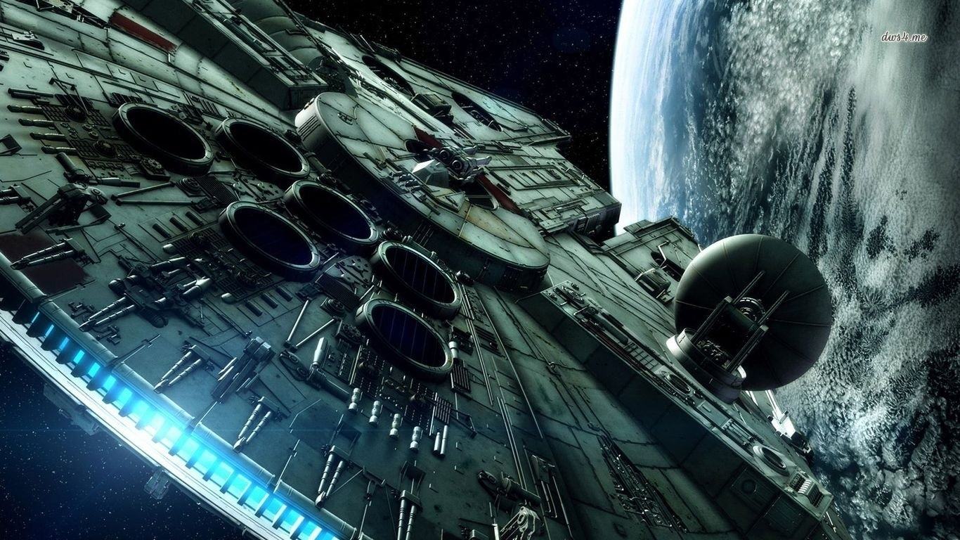 73 millennium falcon hd wallpapers | background images - wallpaper abyss