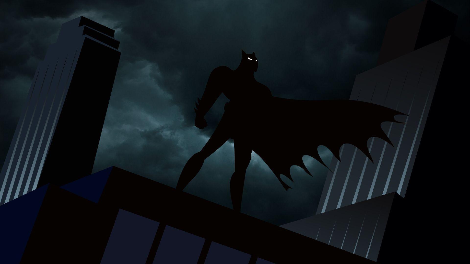 75+ batman cartoon wallpapers on wallpaperplay