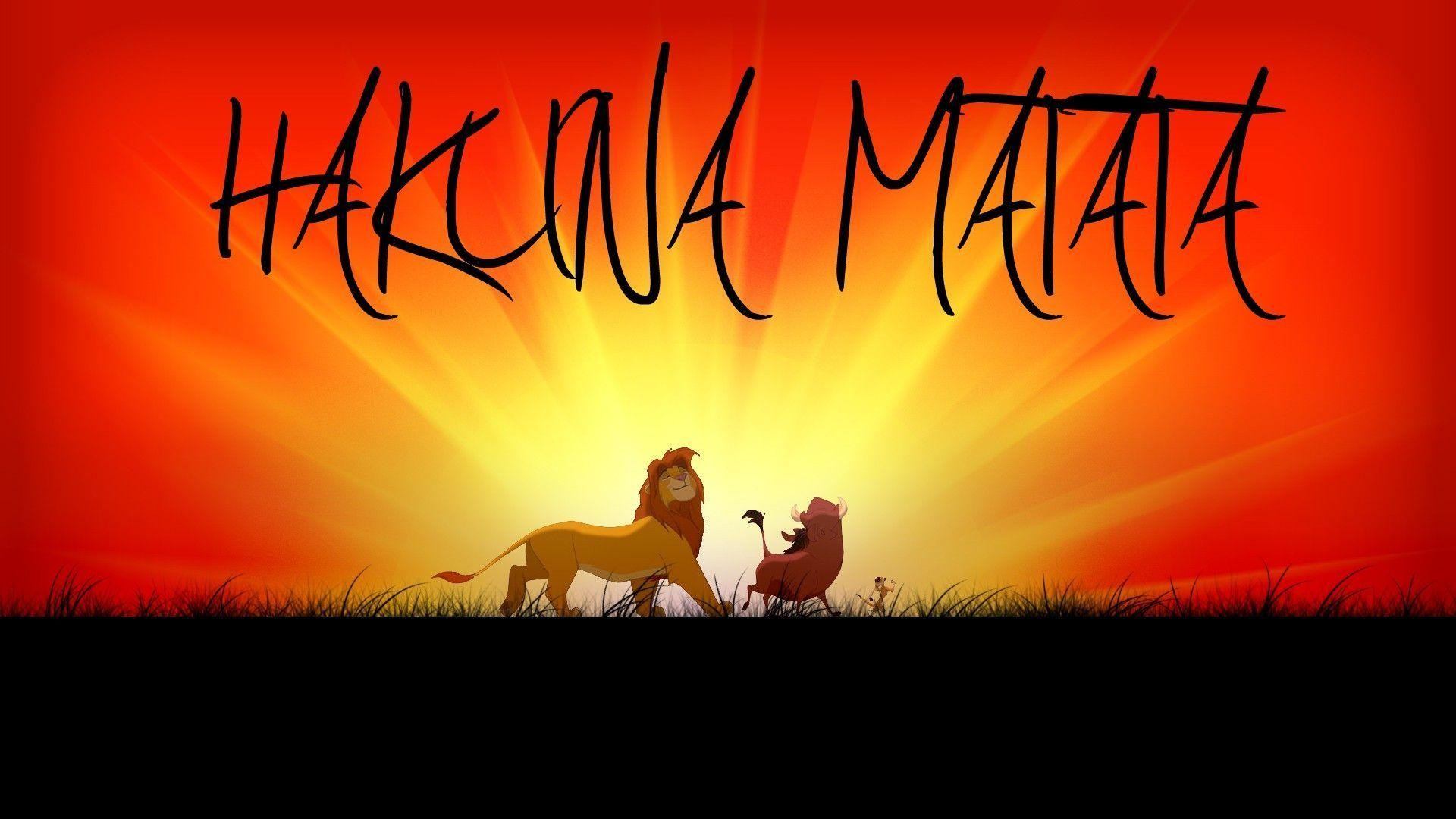 75+ hakuna matata wallpapers on wallpaperplay