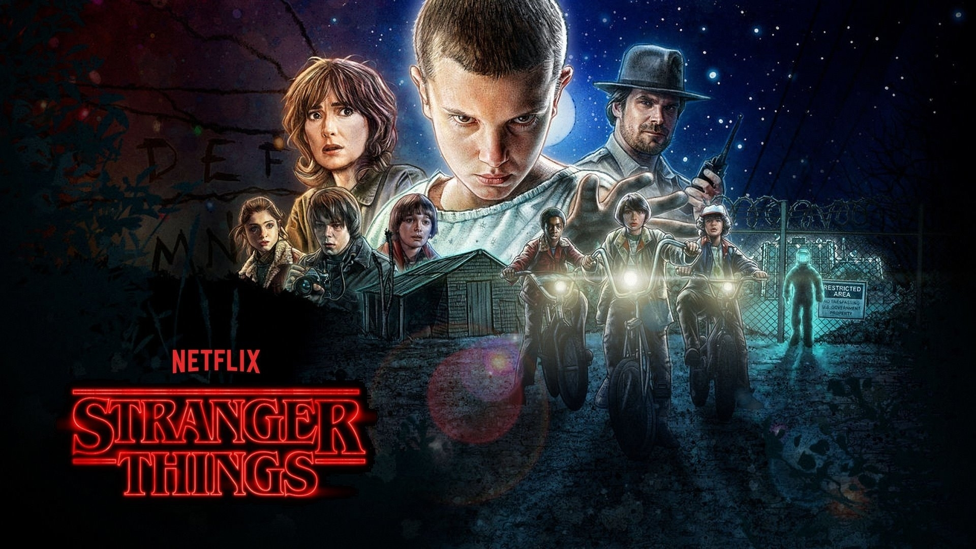 10 Best Stranger Things Desktop Wallpaper FULL HD 1920×1080 For PC Desktop
