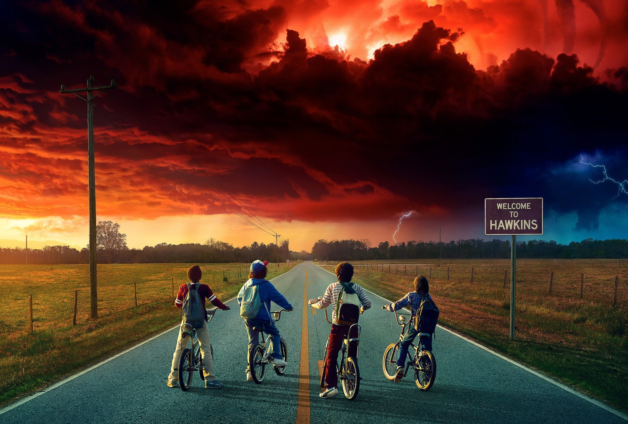 76 stranger things hd wallpapers | background images - wallpaper abyss