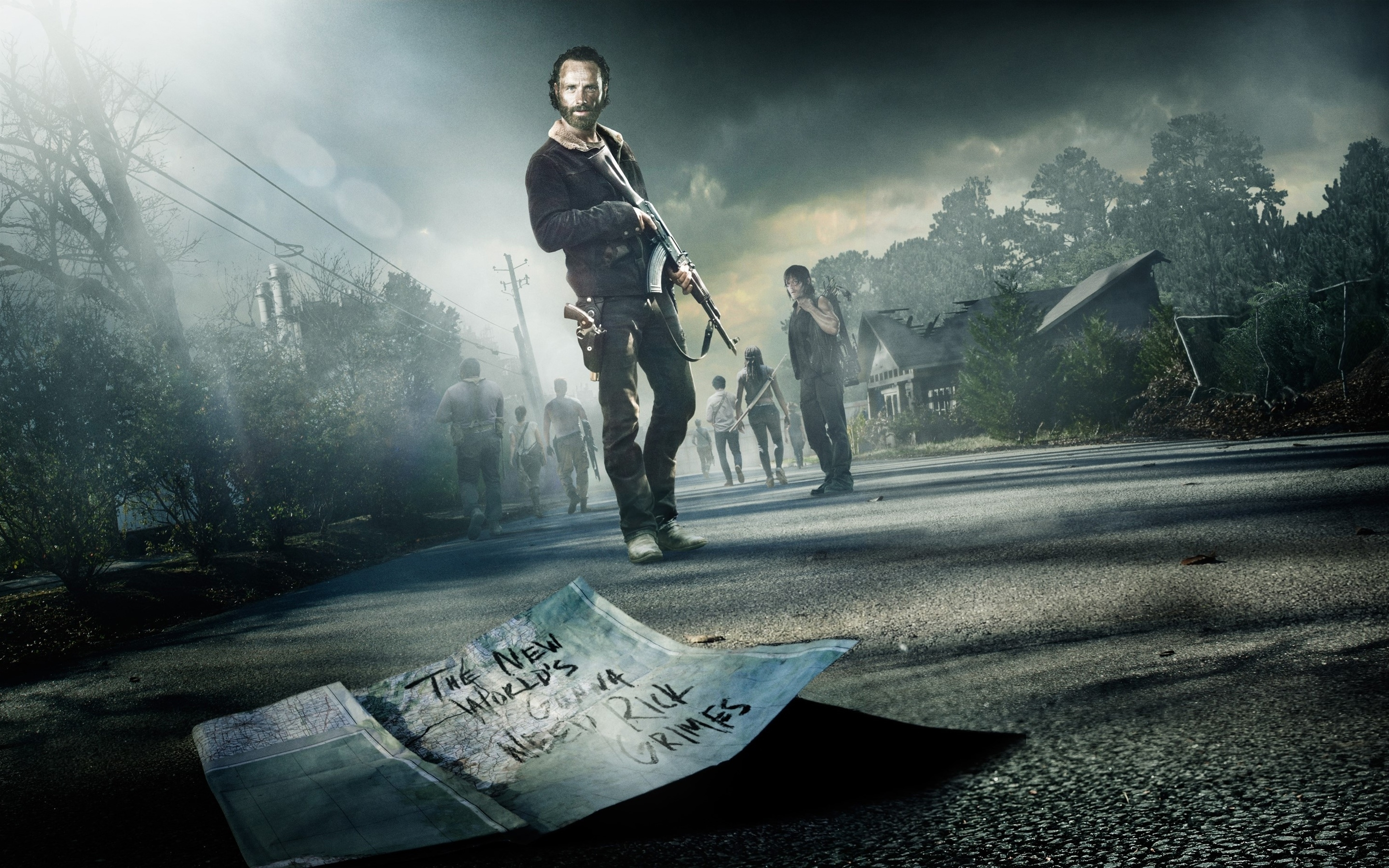 10 Latest The Walking Dead Hd Wallpaper FULL HD 1920×1080 For PC Background
