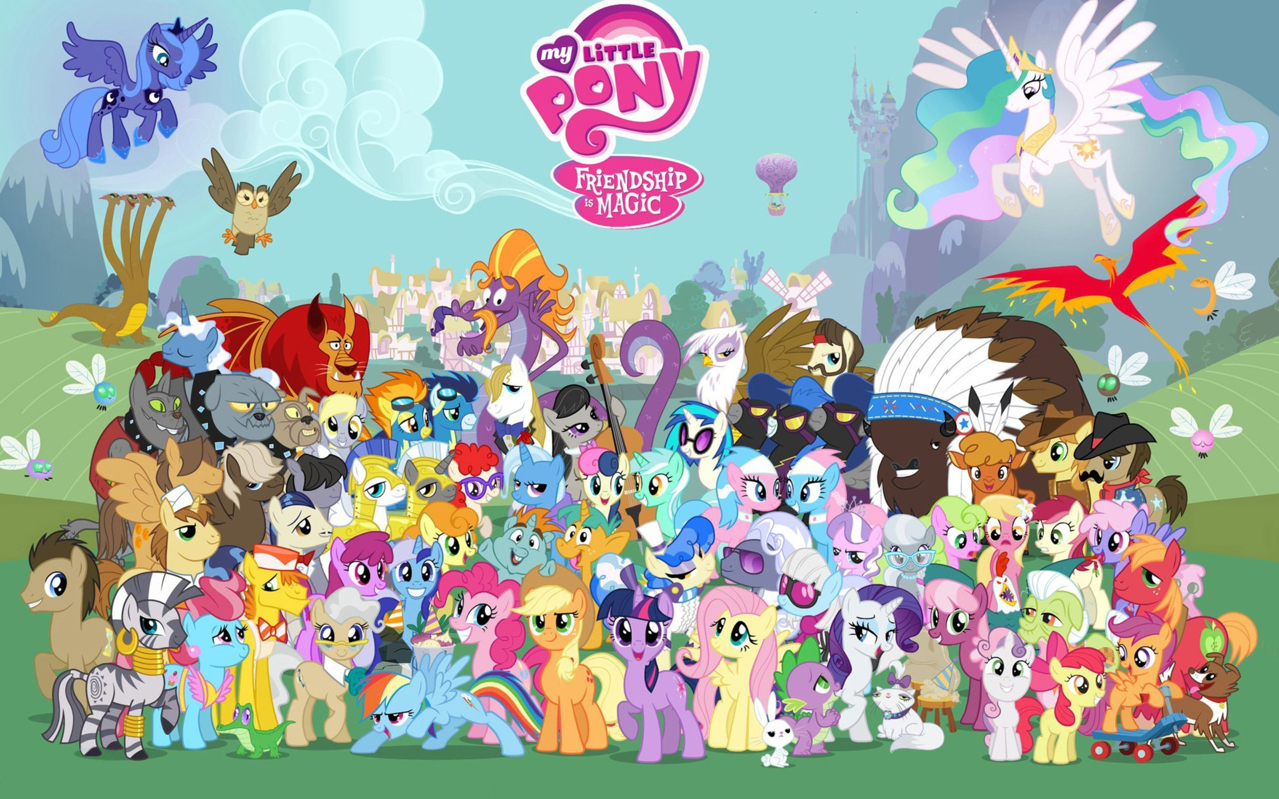 772 my little pony: friendship is magic hd wallpapers | background